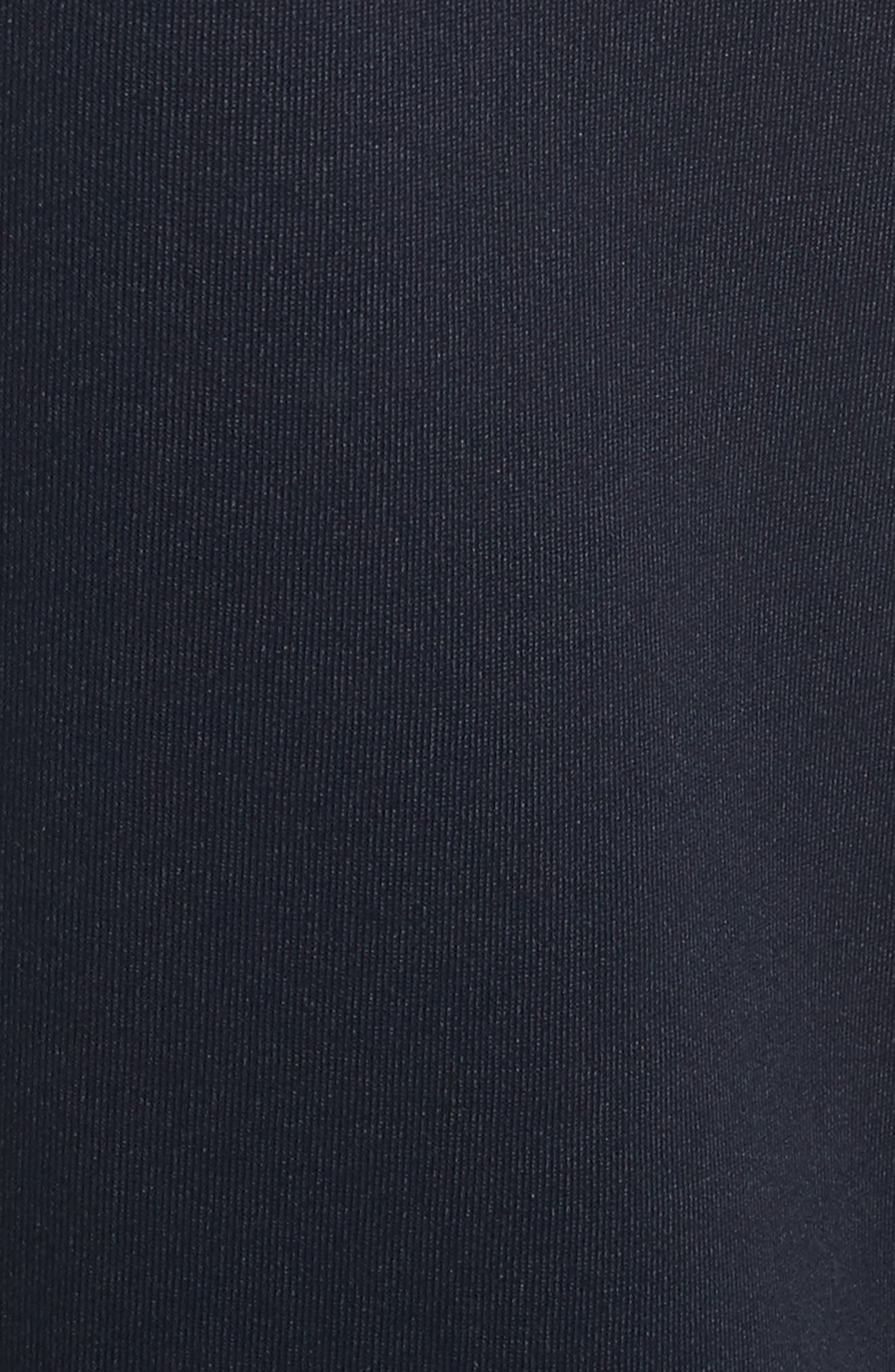 x adidas Cropped Track Pants,                             Alternate thumbnail 6, color,                             Navy