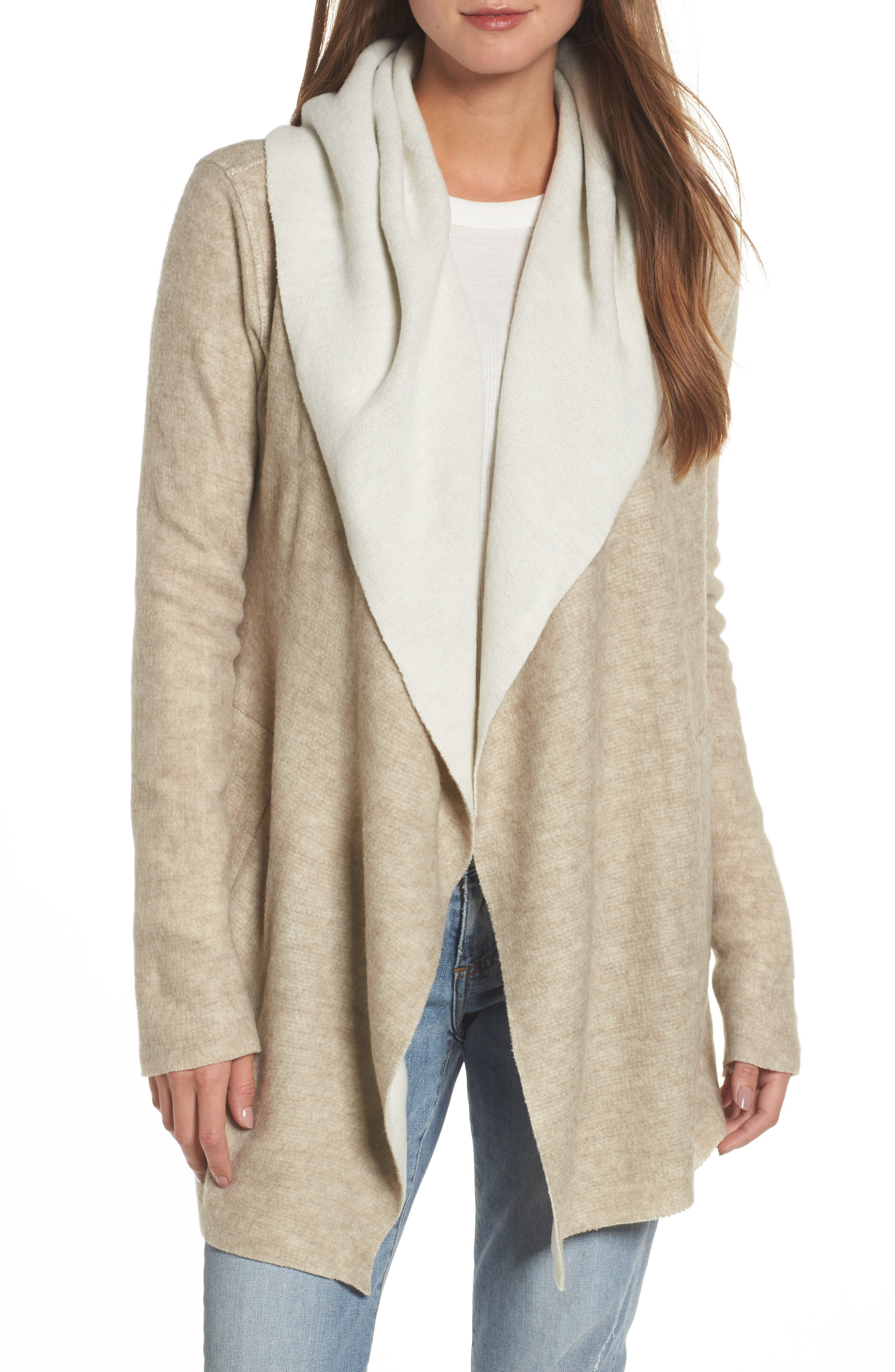 Dylan Hooded Sweater Cardigan