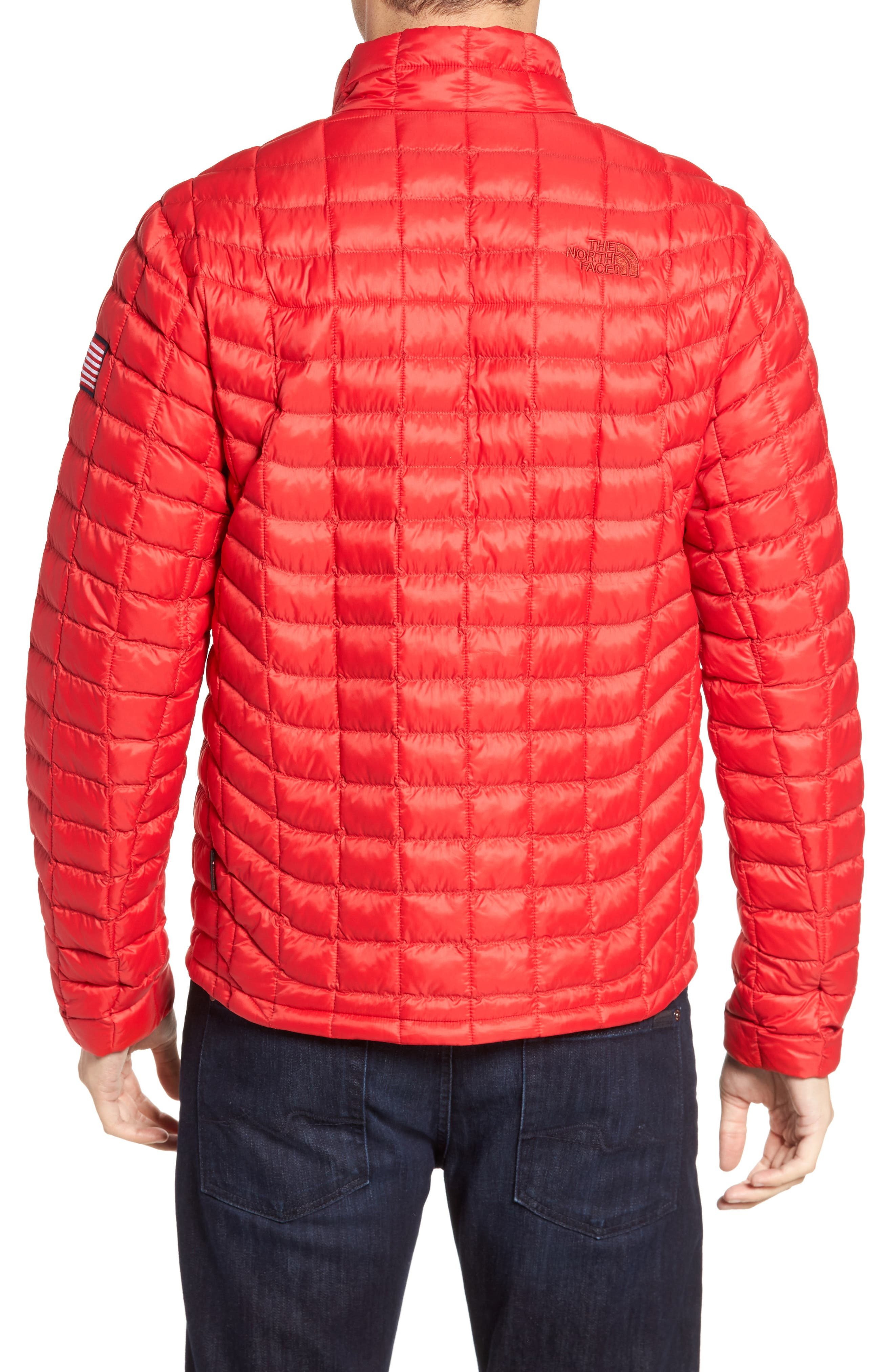International Collection ThermoBall PrimaLoft<sup>®</sup> Jacket,                             Alternate thumbnail 2, color,                             Red