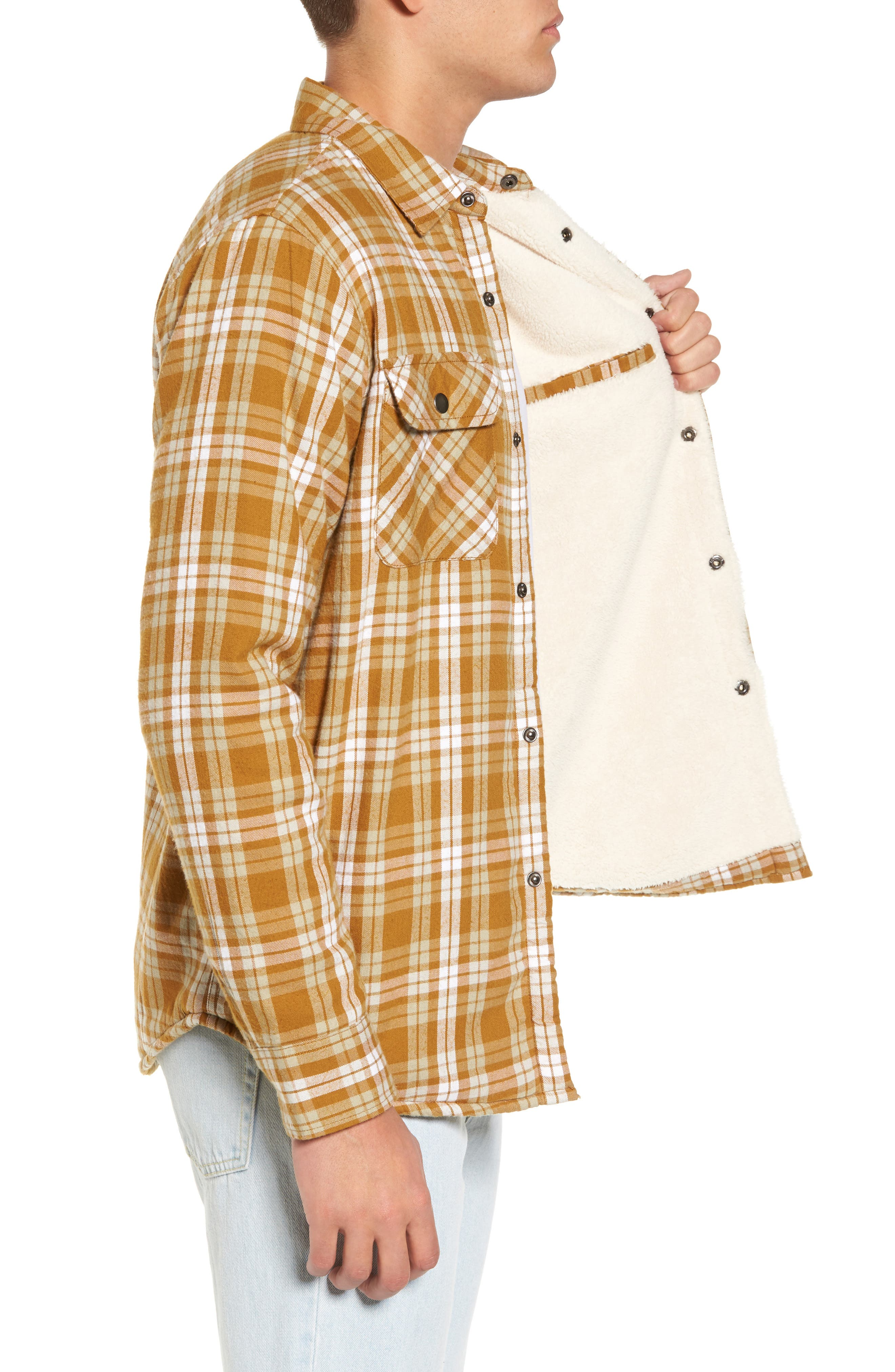 Alternate Image 3  - Obey Seattle Shirt Jacket