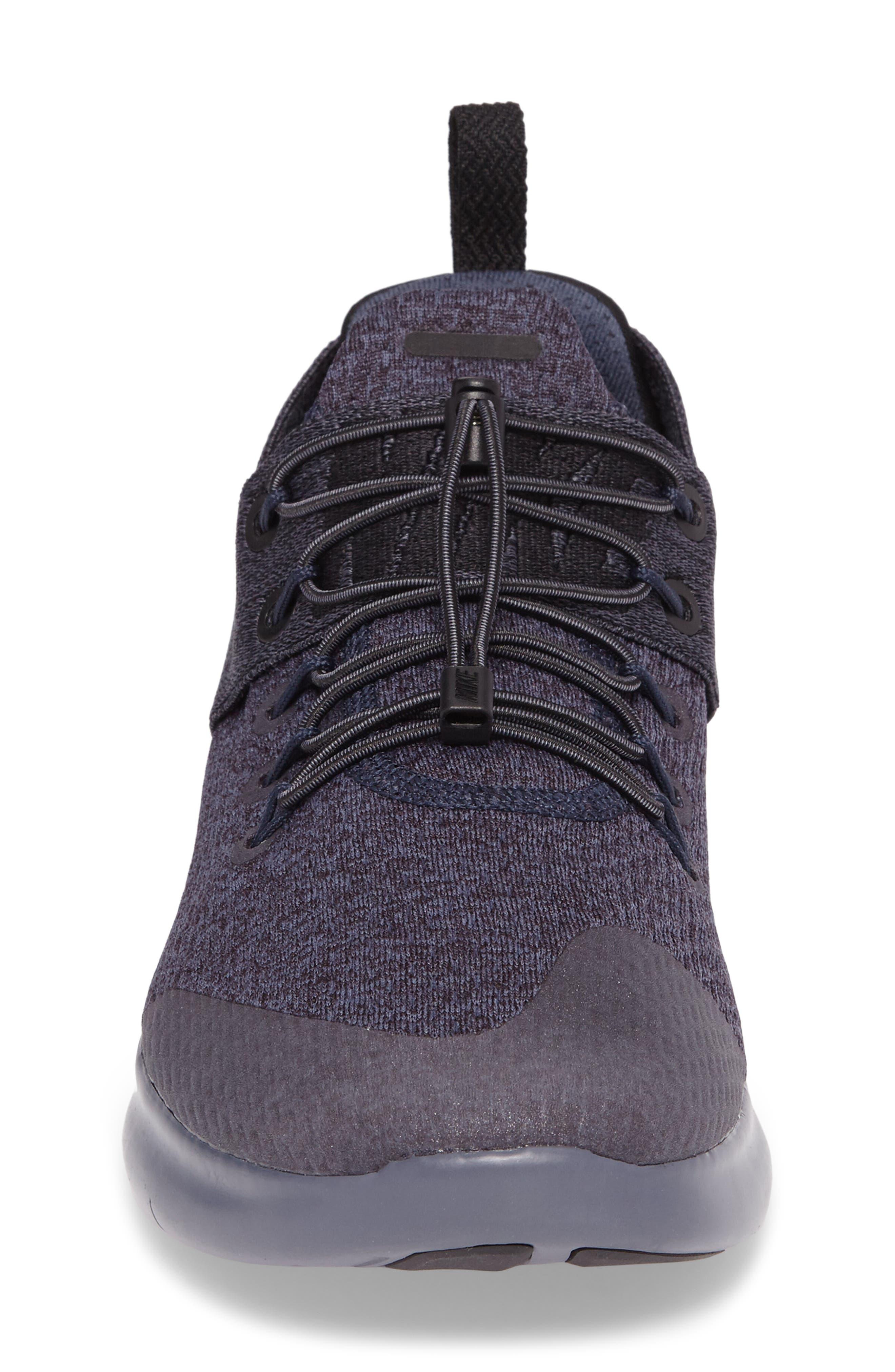 Free RN Commuter 2017 Premium Running Shoe,                             Alternate thumbnail 4, color,                             Light Carbon/Port Wine