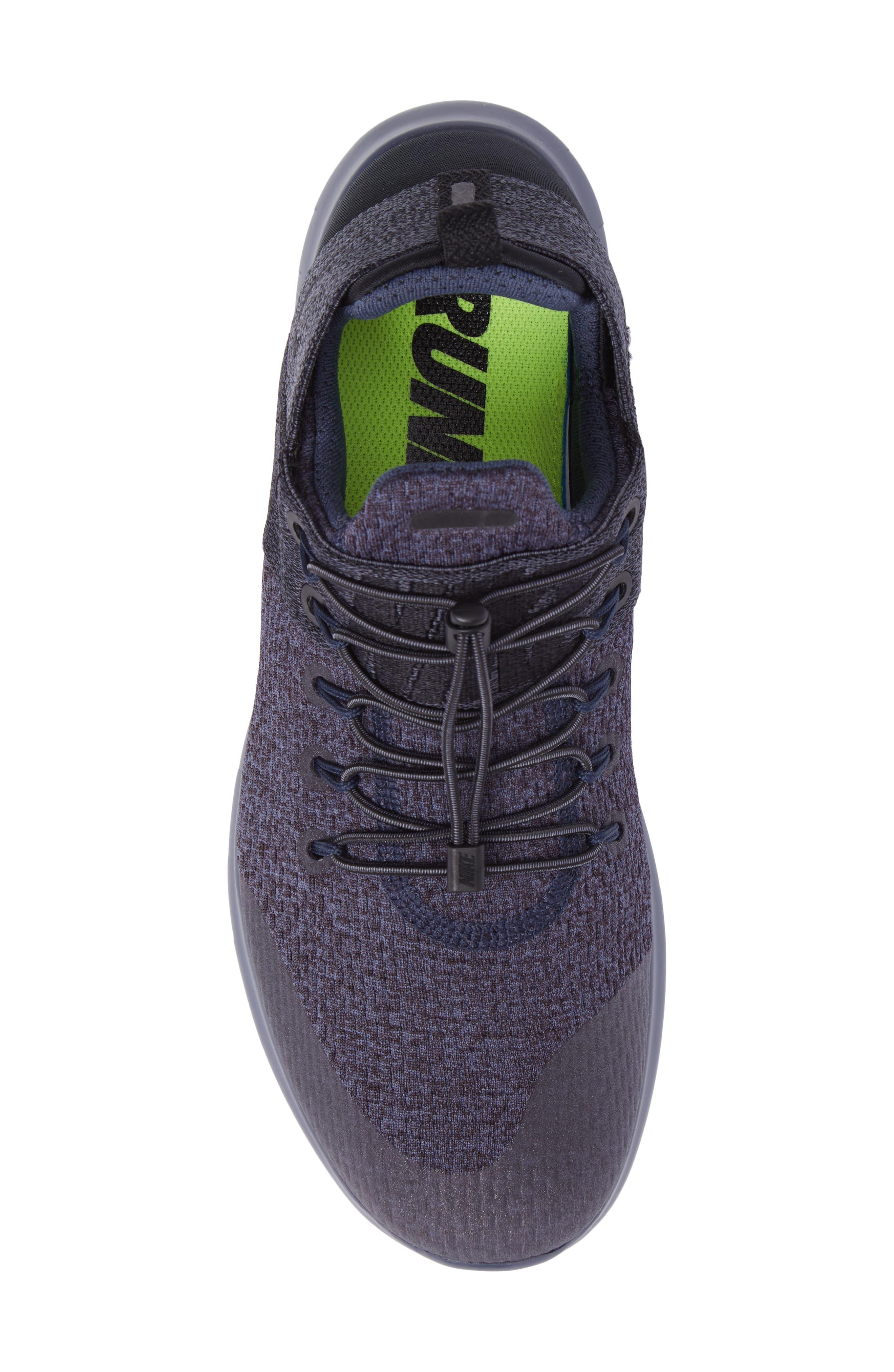 Free RN Commuter 2017 Premium Running Shoe,                             Alternate thumbnail 5, color,                             Light Carbon/Port Wine