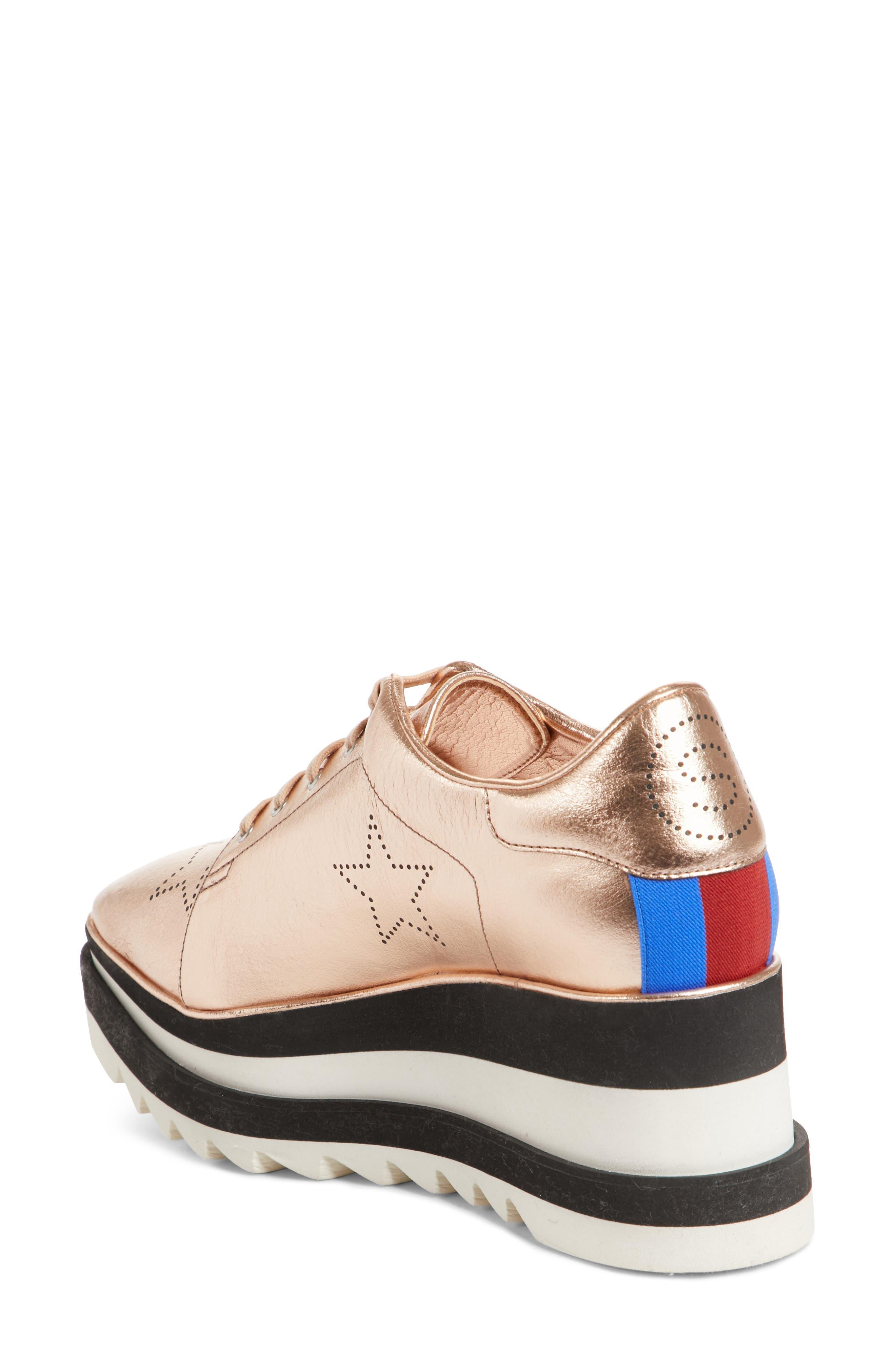 Alternate Image 2  - Stella McCartney Elyse Platform Sneaker (Women)