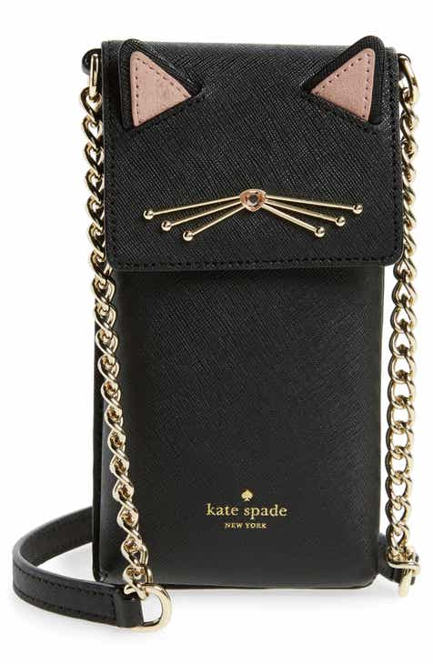 Kate Spade New York Cat Smartphone Crossbody Bag