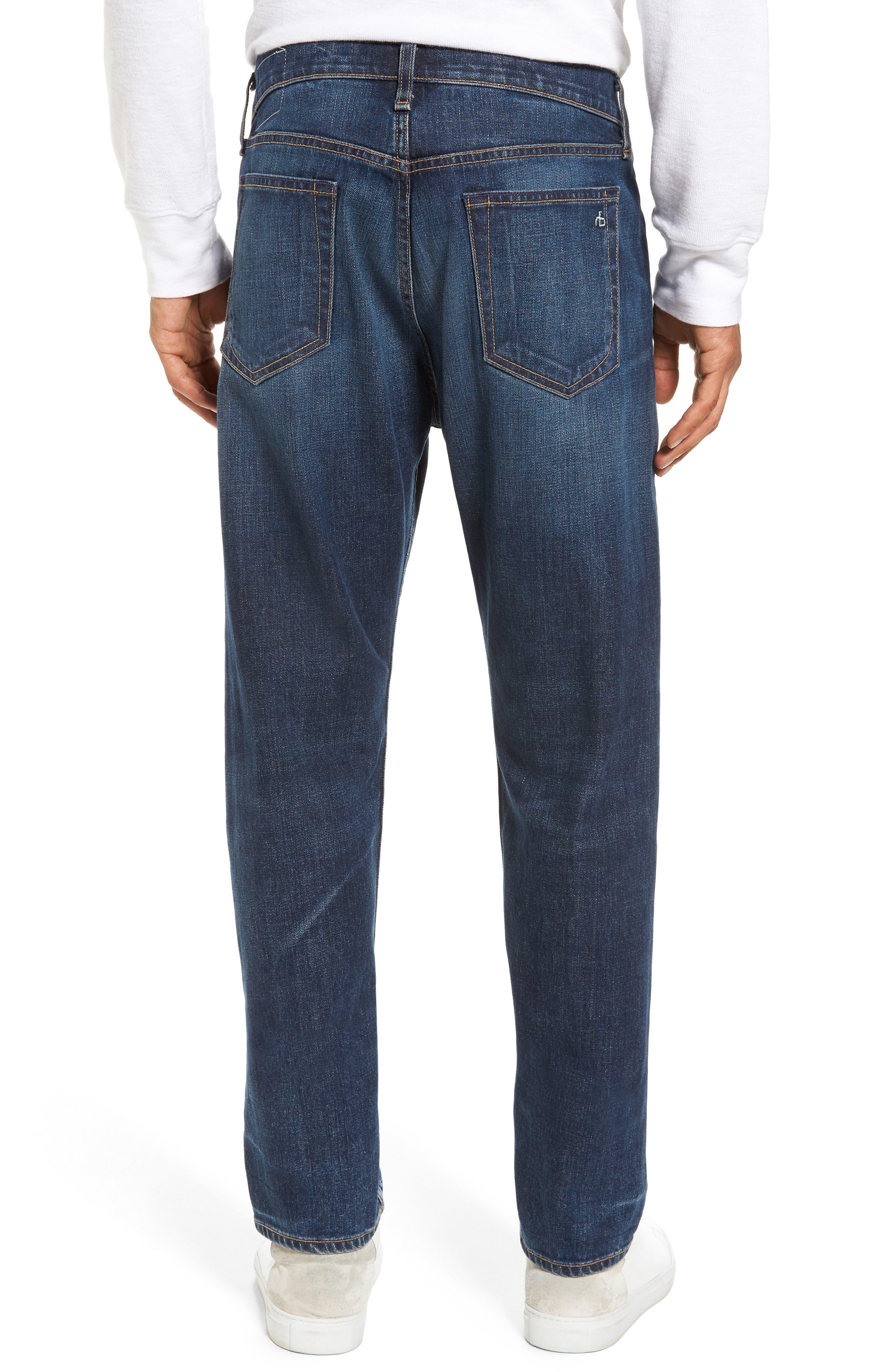 Fit 3 Slim Straight Leg Jeans,                             Alternate thumbnail 2, color,                             Linden