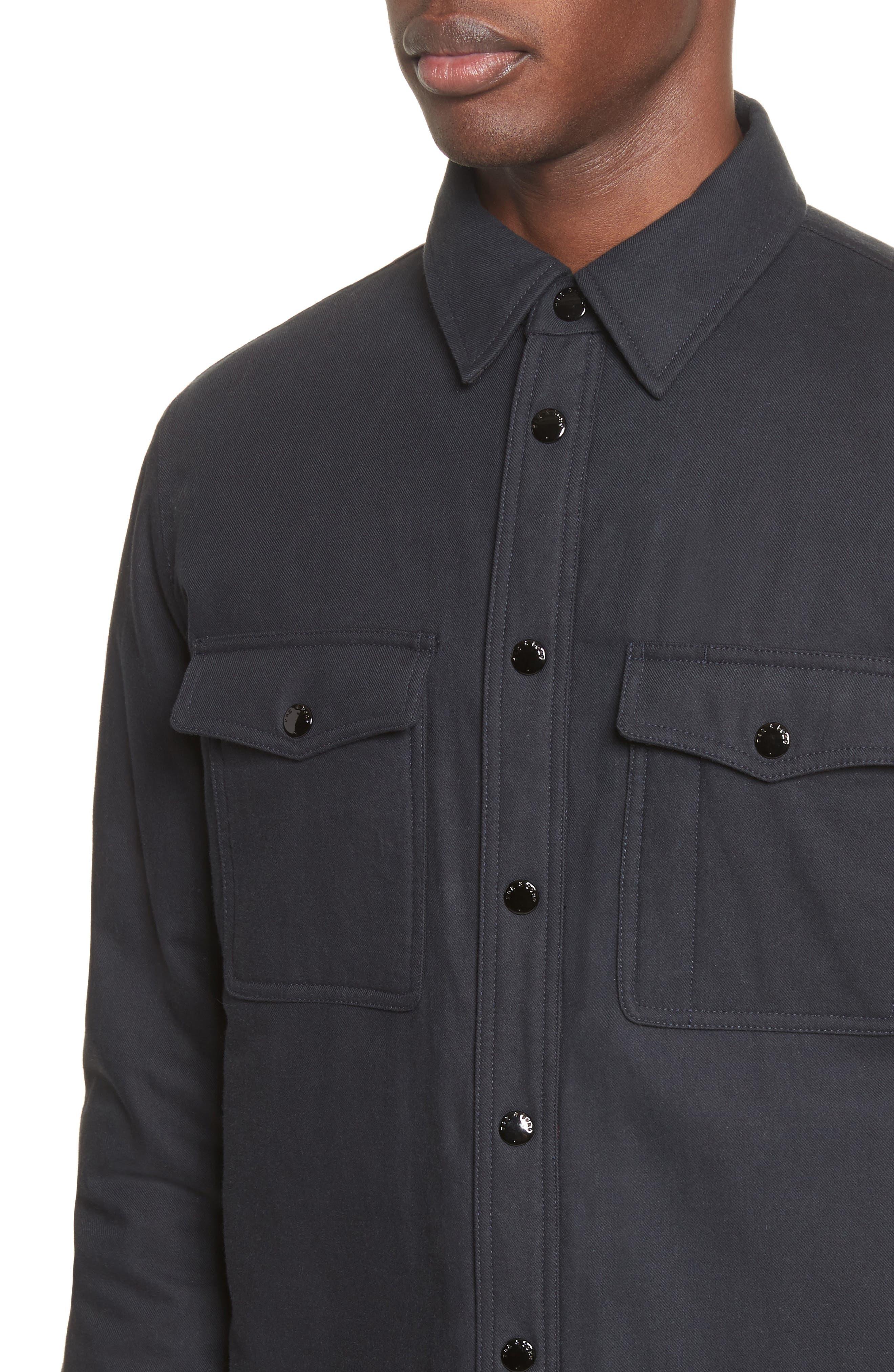 Alternate Image 4  - rag & bone Jack Quilt Lined Shirt Jacket