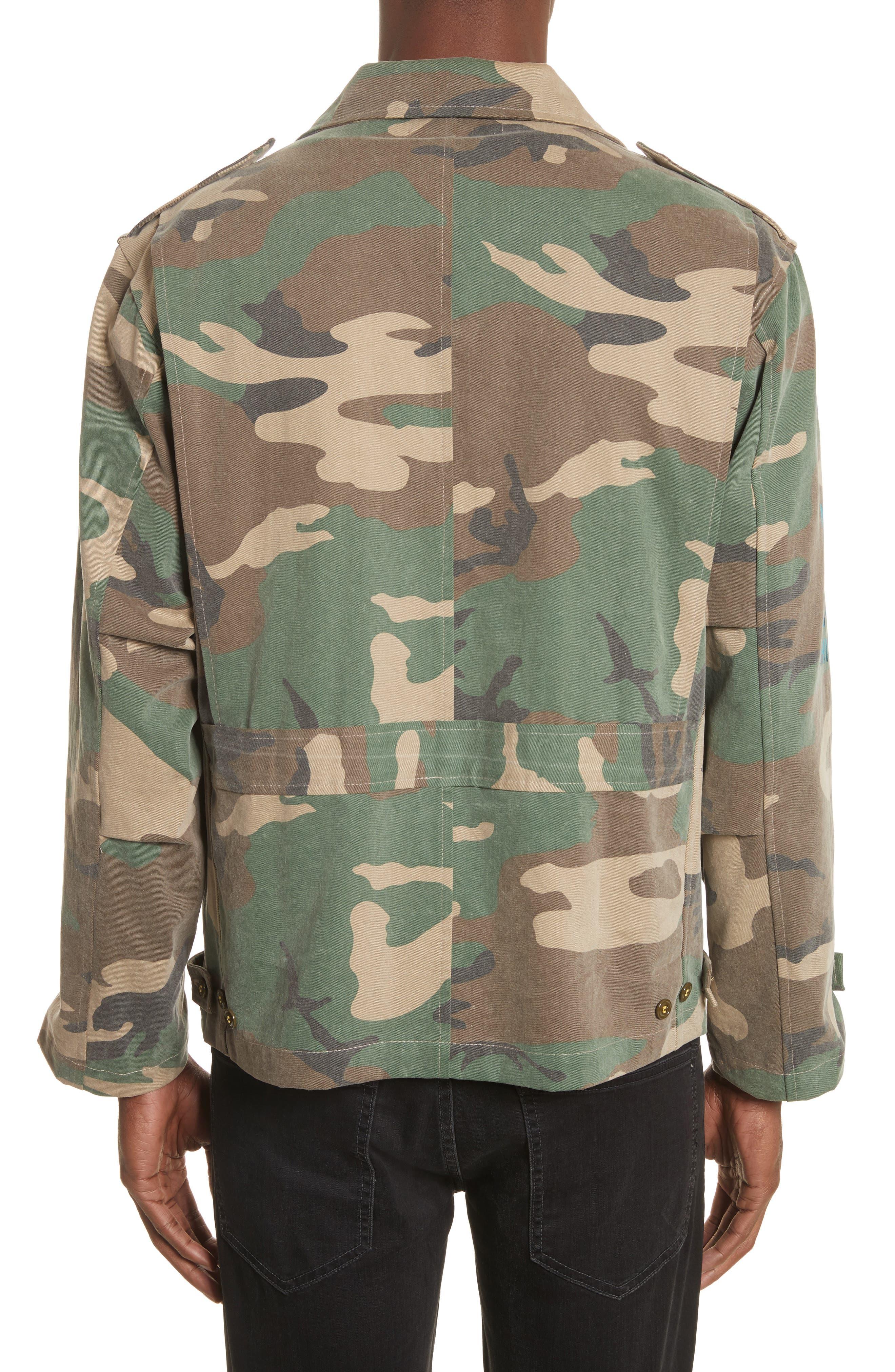 Shango Camo Jacket,                             Alternate thumbnail 2, color,                             Camo Multi