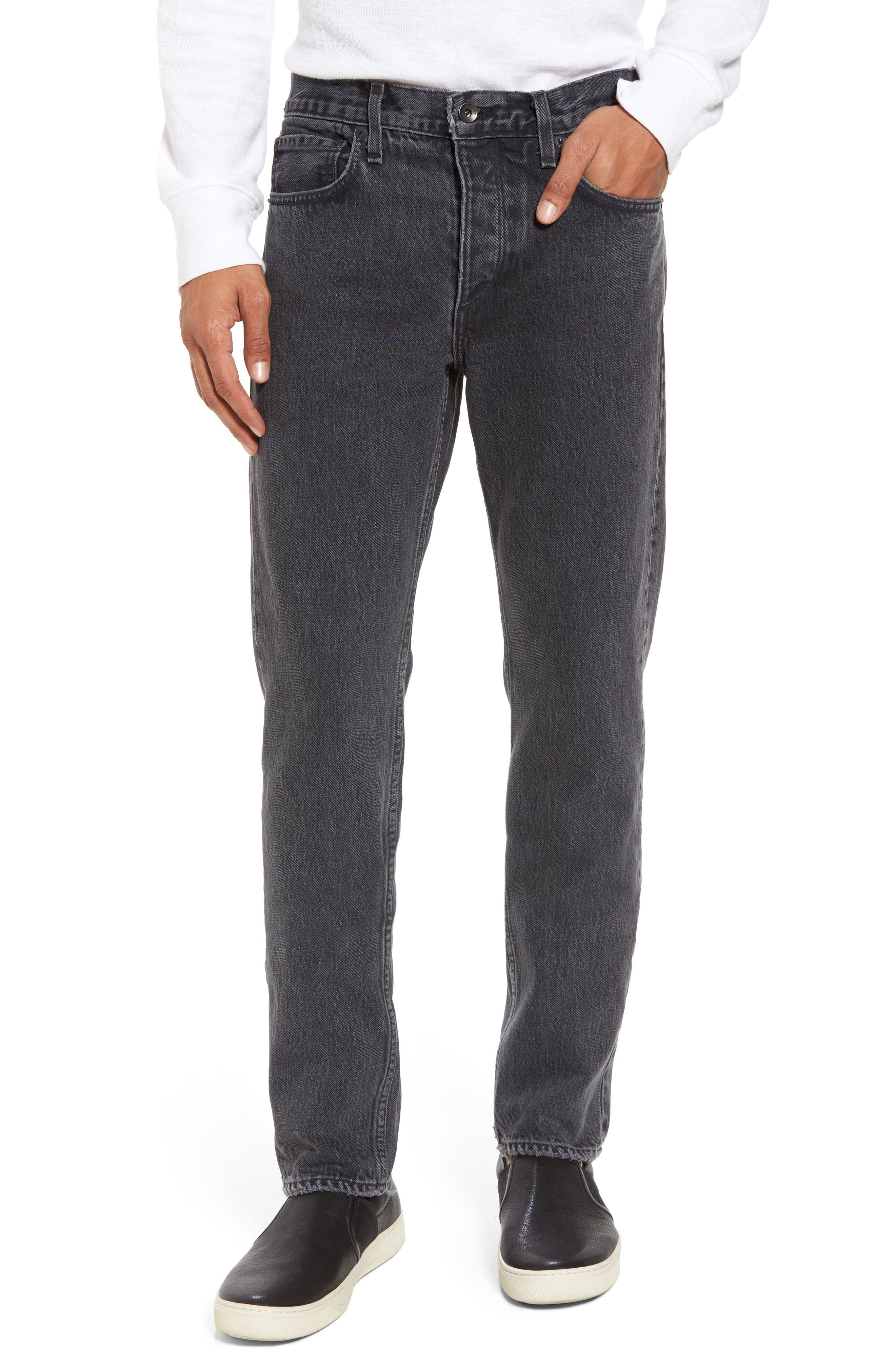 Fit 2 Slim Fit Jeans,                         Main,                         color, Wycoff