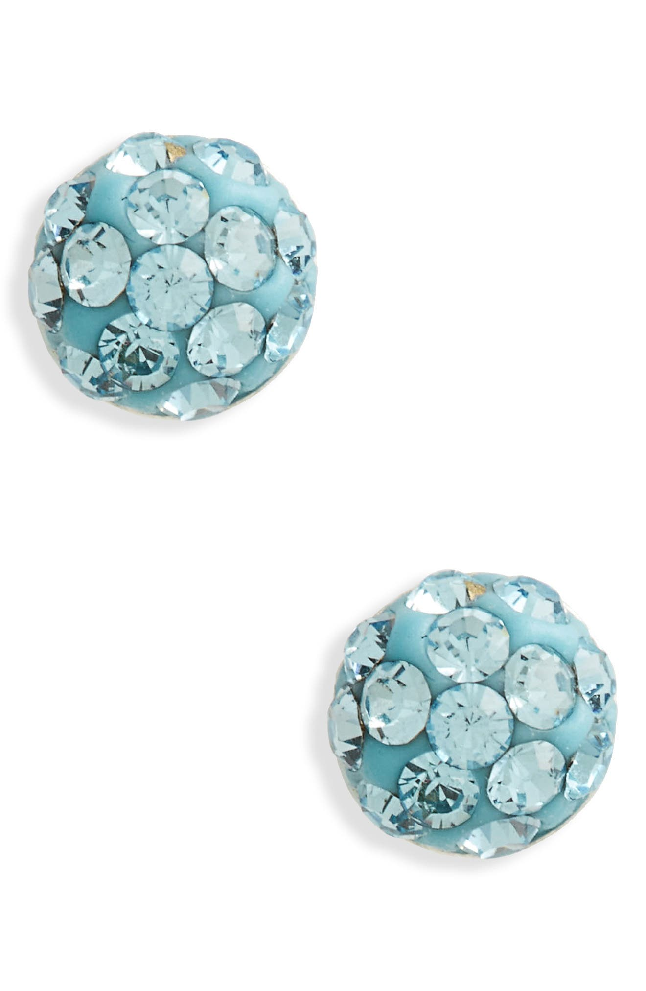 Tomas Crystal & Sterling Silver Earrings (Girls)