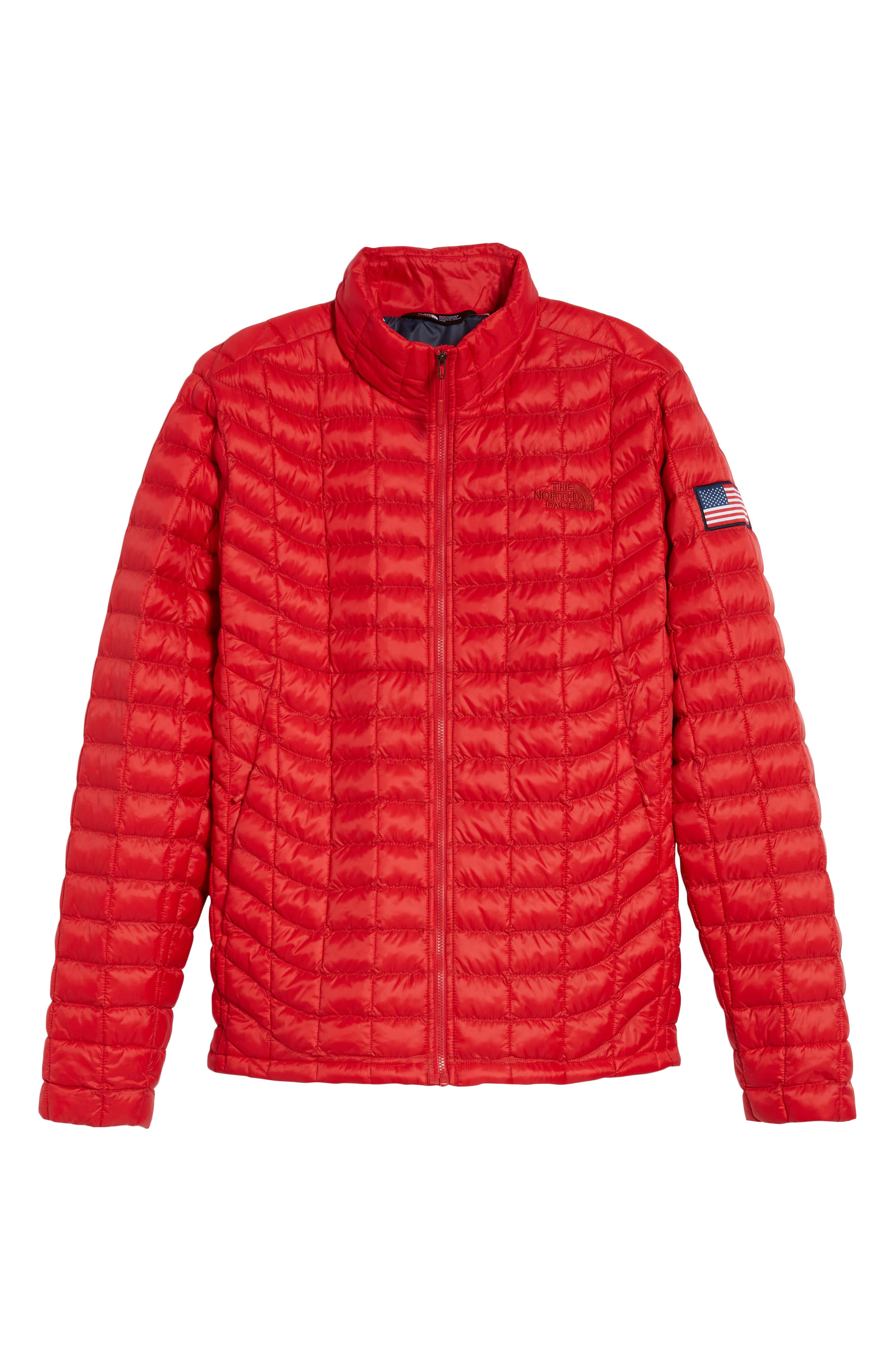 International Collection ThermoBall PrimaLoft<sup>®</sup> Jacket,                             Alternate thumbnail 6, color,                             Red