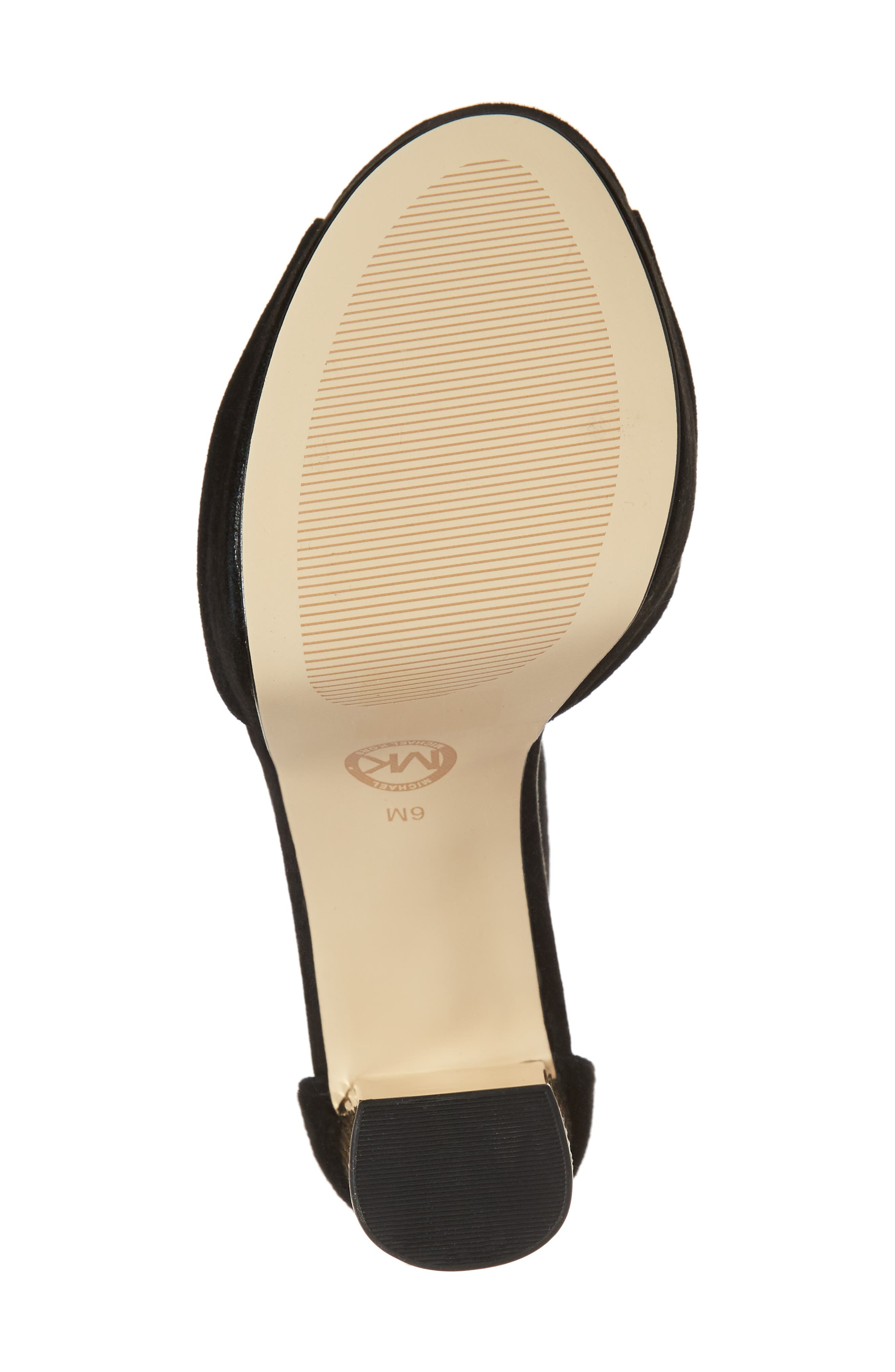 Alternate Image 6  - MICHAEL Michael Kors Paloma Metallic Heel Platform Sandal (Women)
