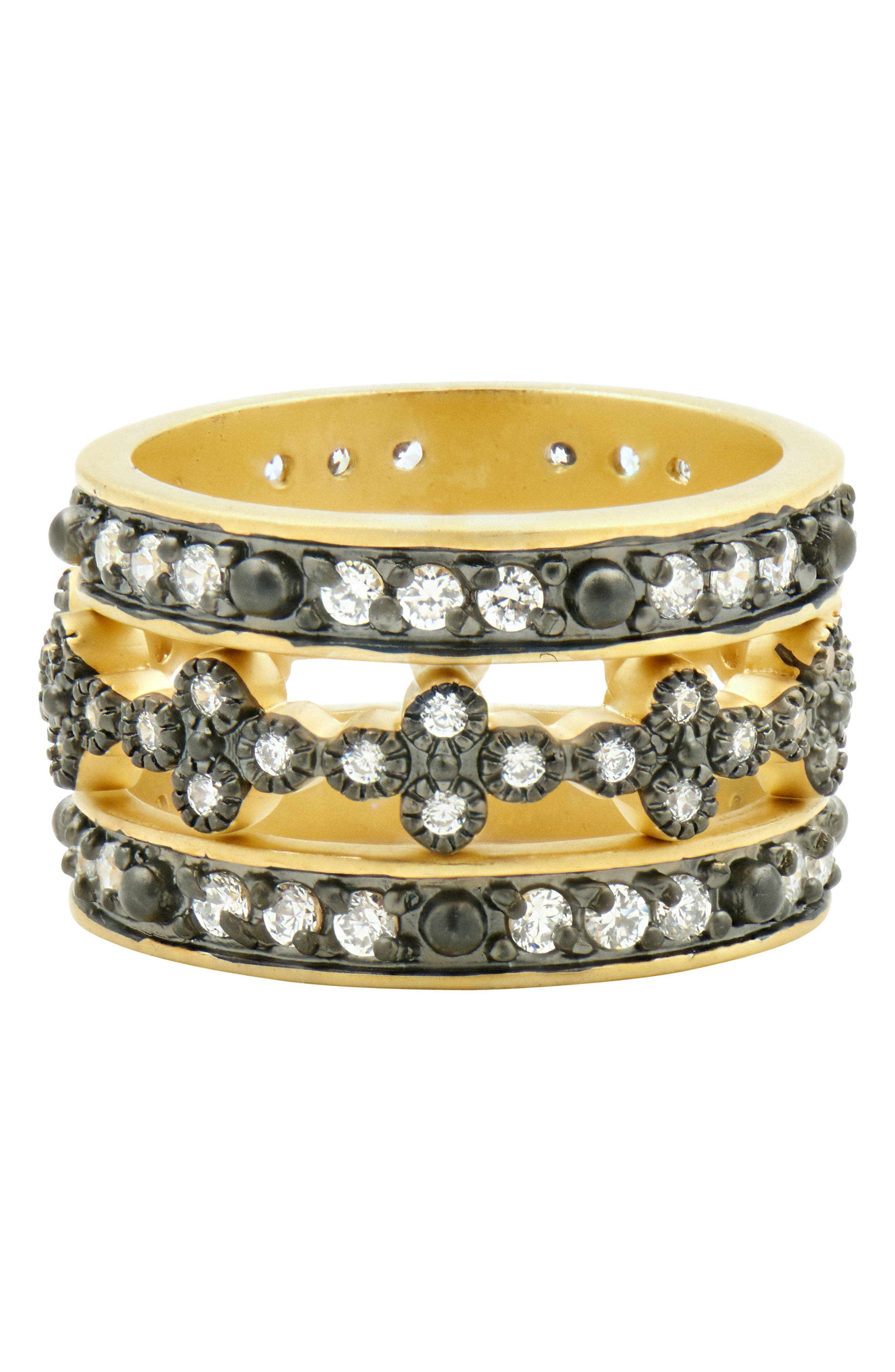 FREIDA ROTHMAN Set of 3 Stacking Rings (Special Purchase)