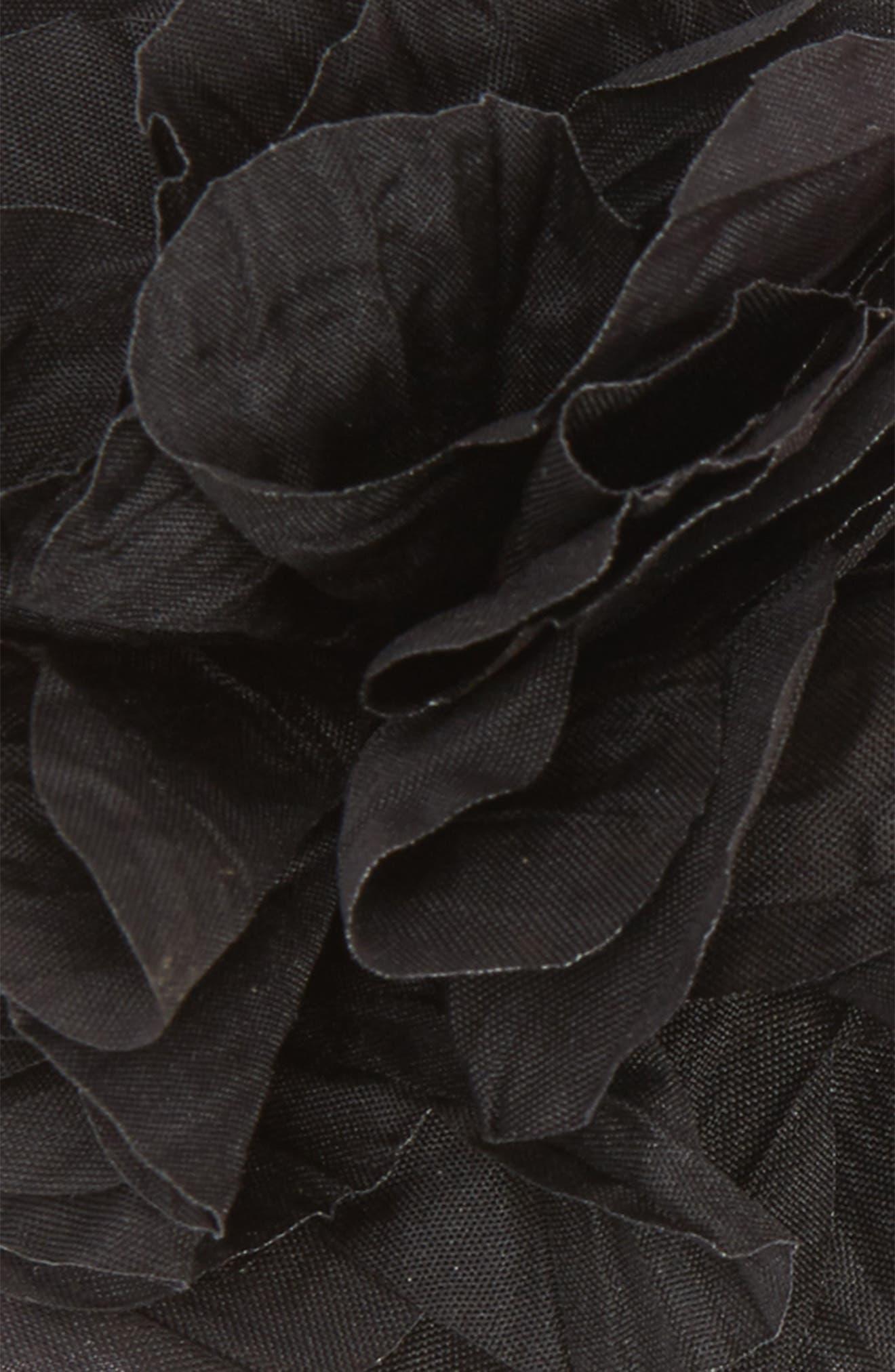 Crinkle Flower 2-Pack Headbands,                             Alternate thumbnail 5, color,                             Magenta/Black