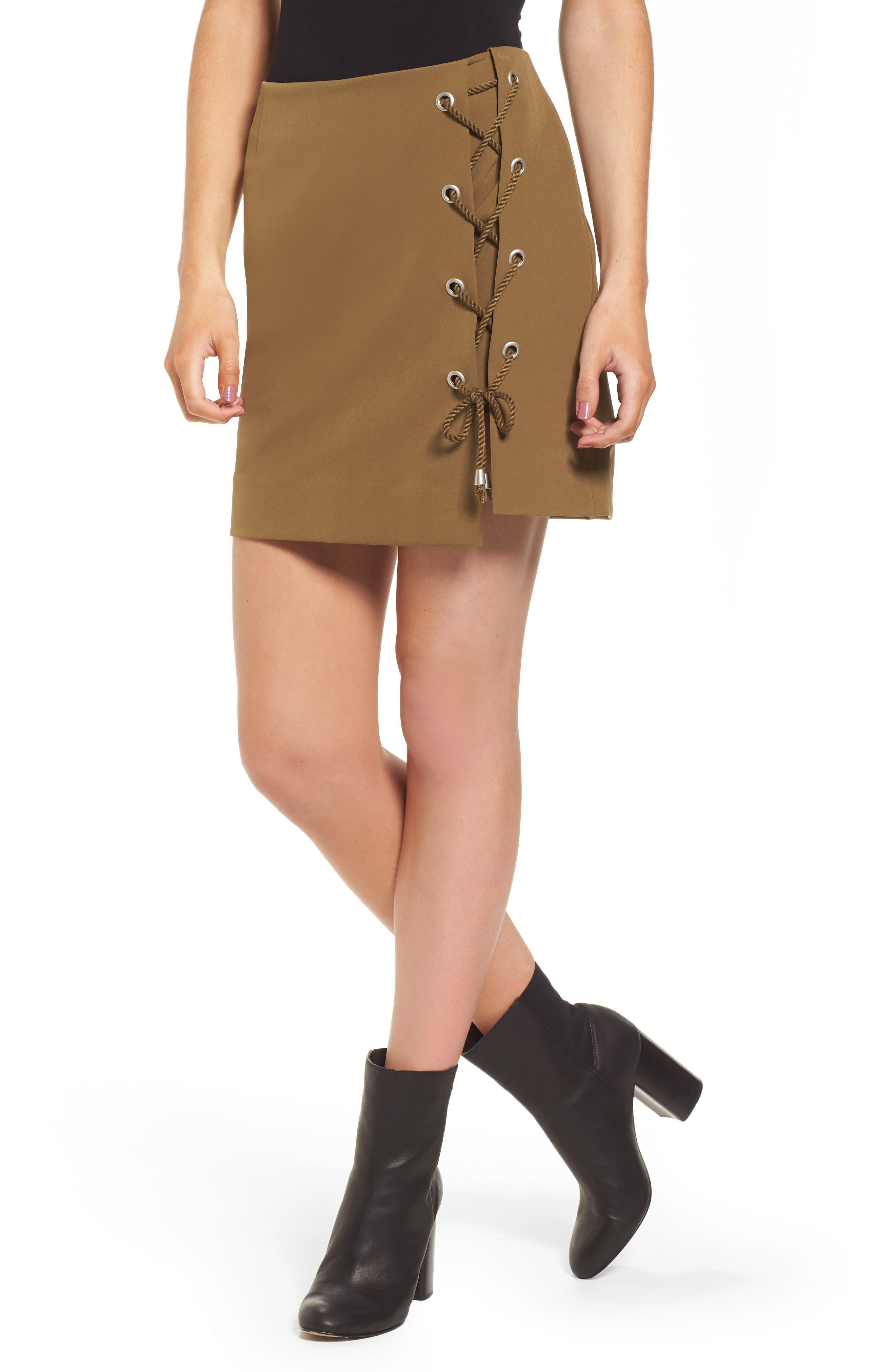 Alternate Image 1 Selected - Rebecca Minkoff Stevia Miniskirt