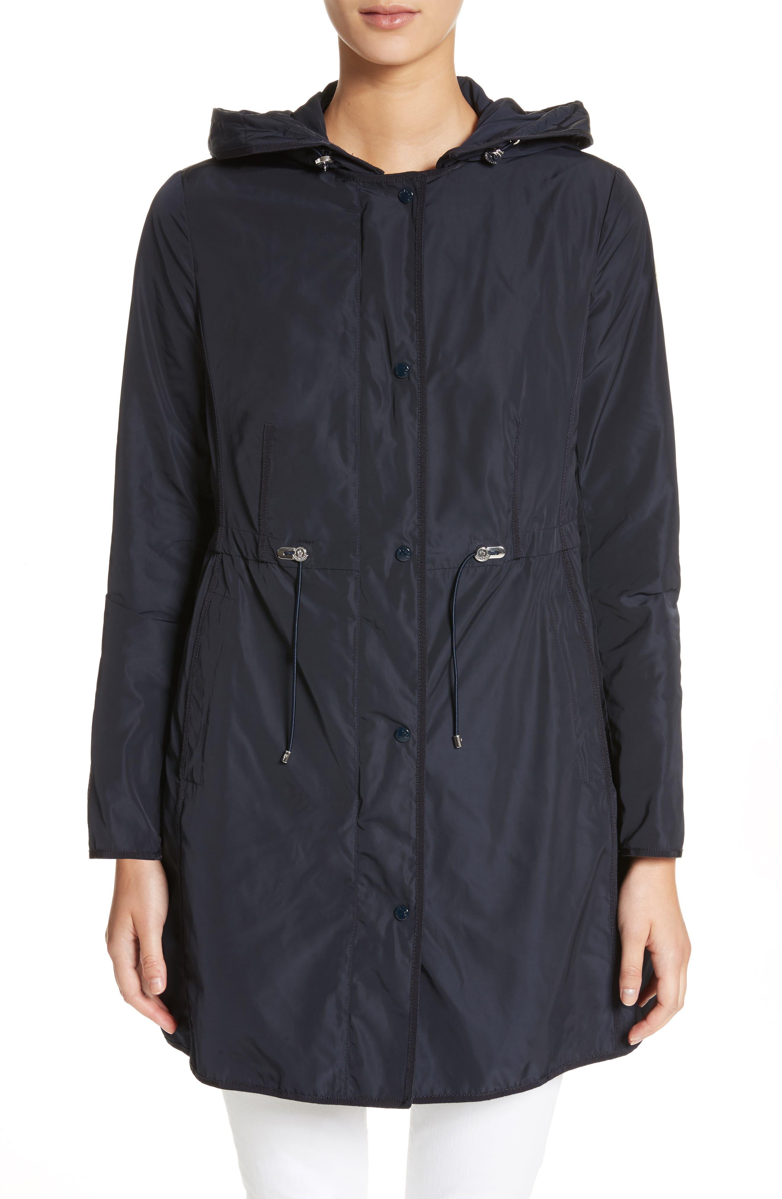 Anthemis Rain Coat,                         Main,                         color, Navy