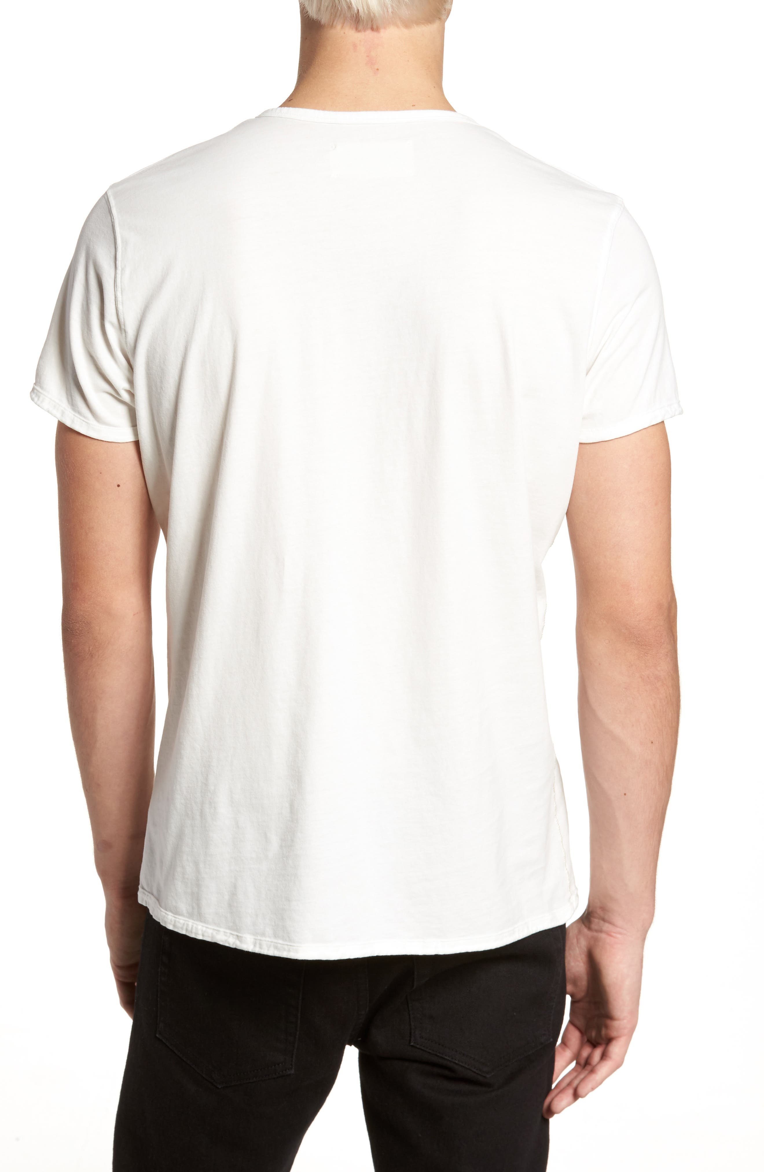 Alternate Image 2  - Vestige Notch Henley T-Shirt