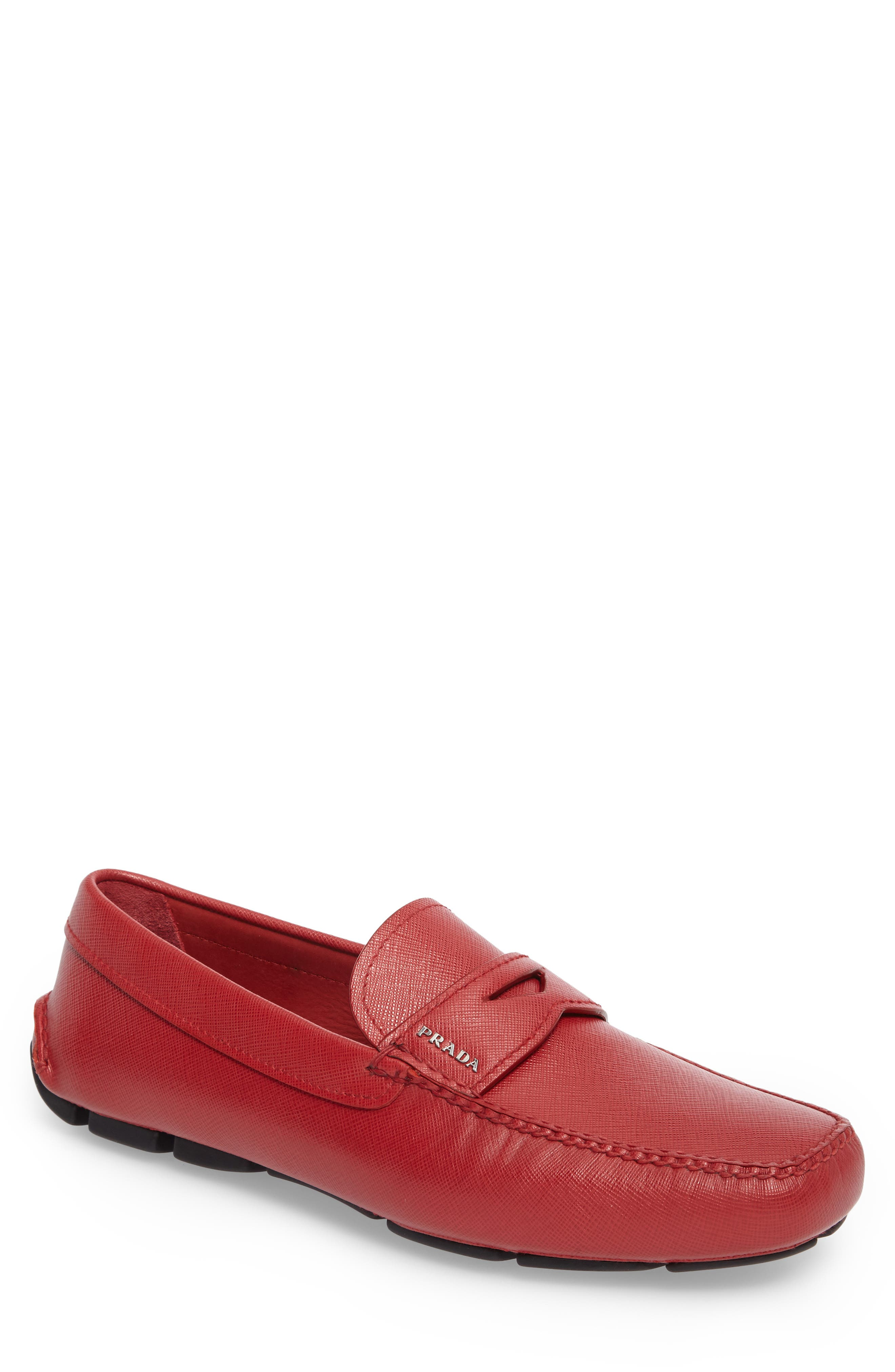 Alternate Image 1 Selected - Prada Driving Shoe (Men)