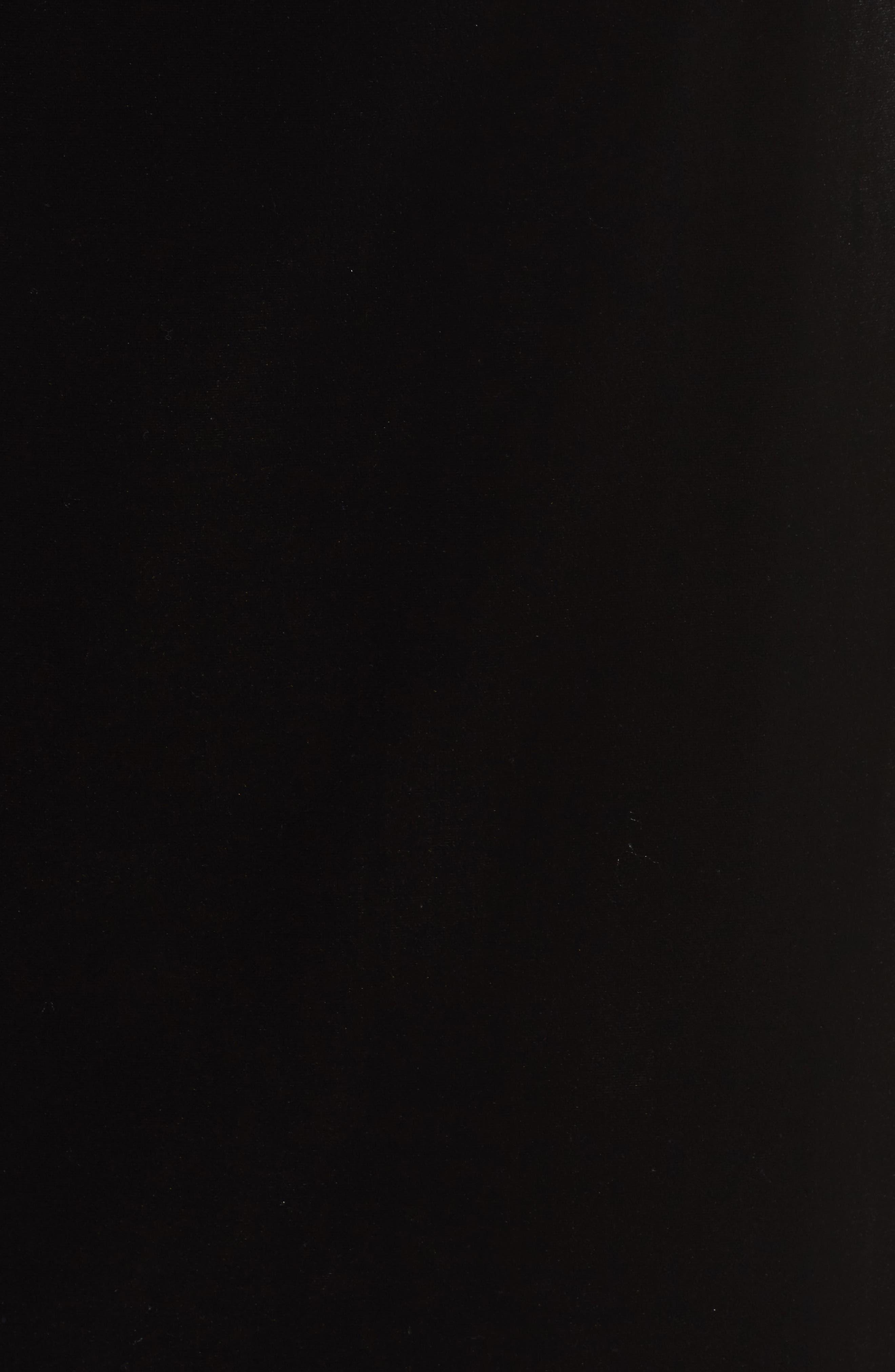 Embellished Velvet Shift Dress,                             Alternate thumbnail 5, color,                             Black