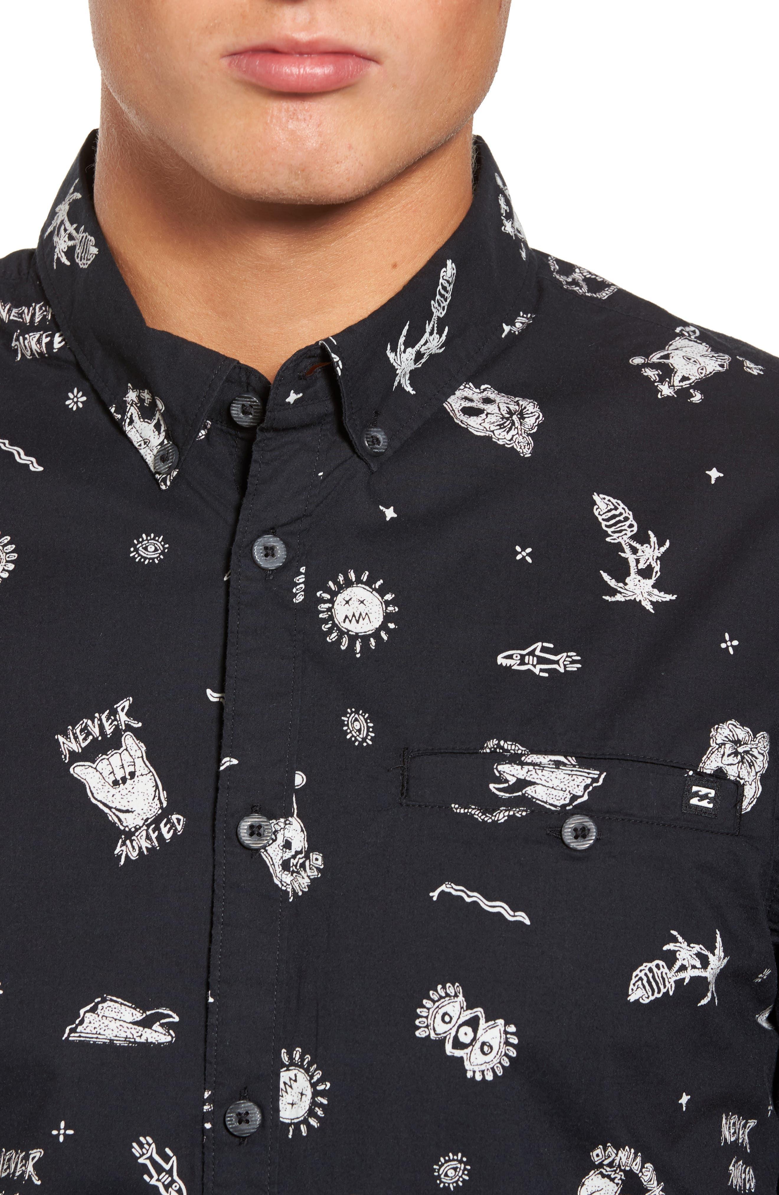 Alternate Image 4  - Billabong Sunday Woven Shirt
