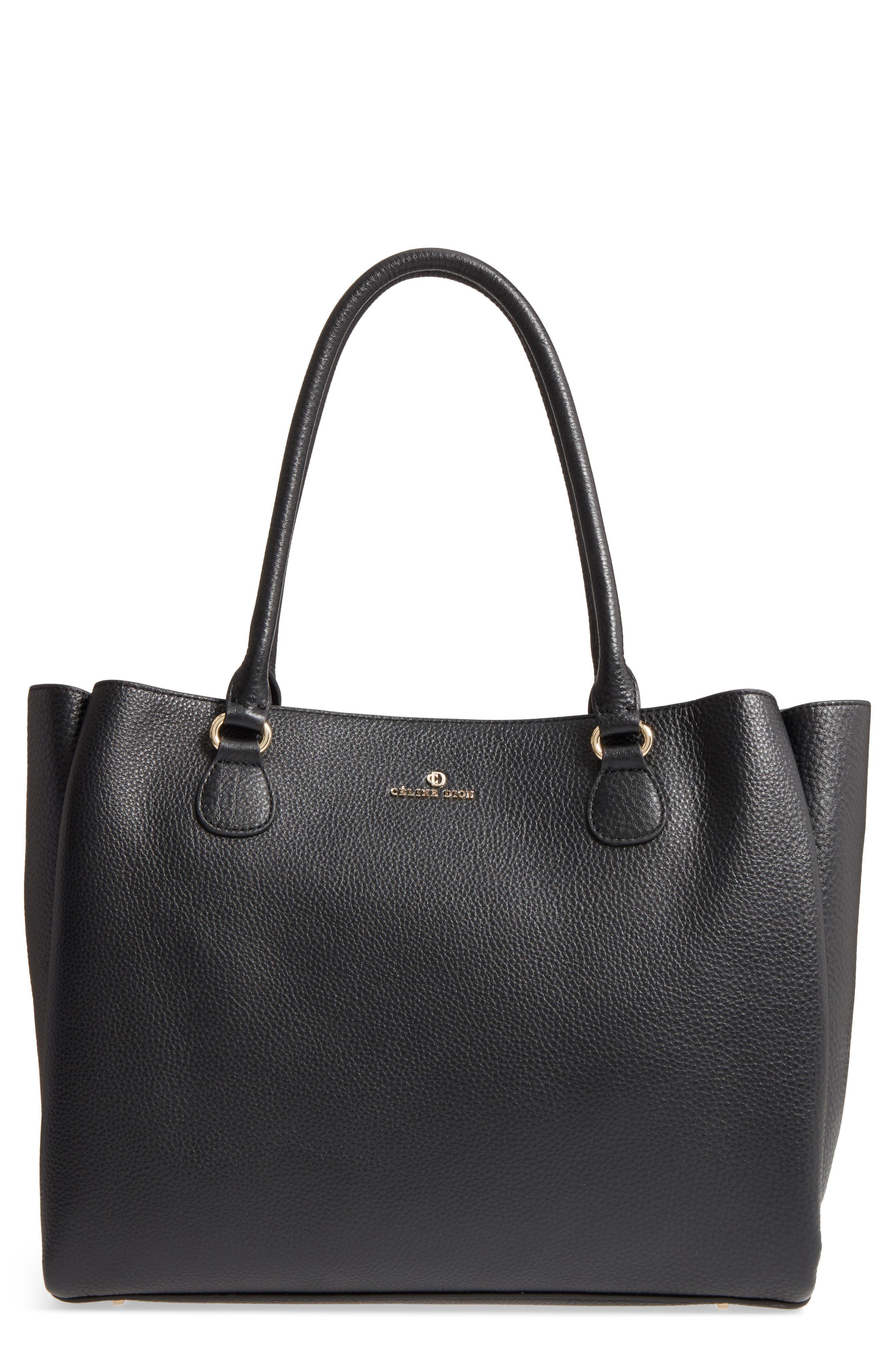 Céline Dion Adagio Leather Tote