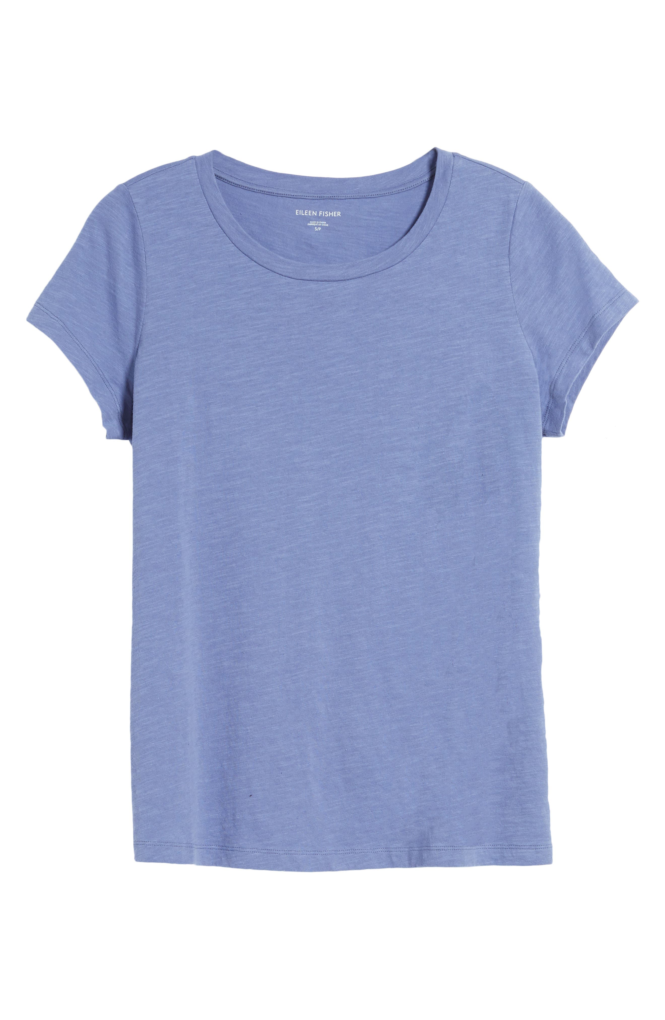 Organic Cotton Tee,                         Main,                         color, Periwinkle