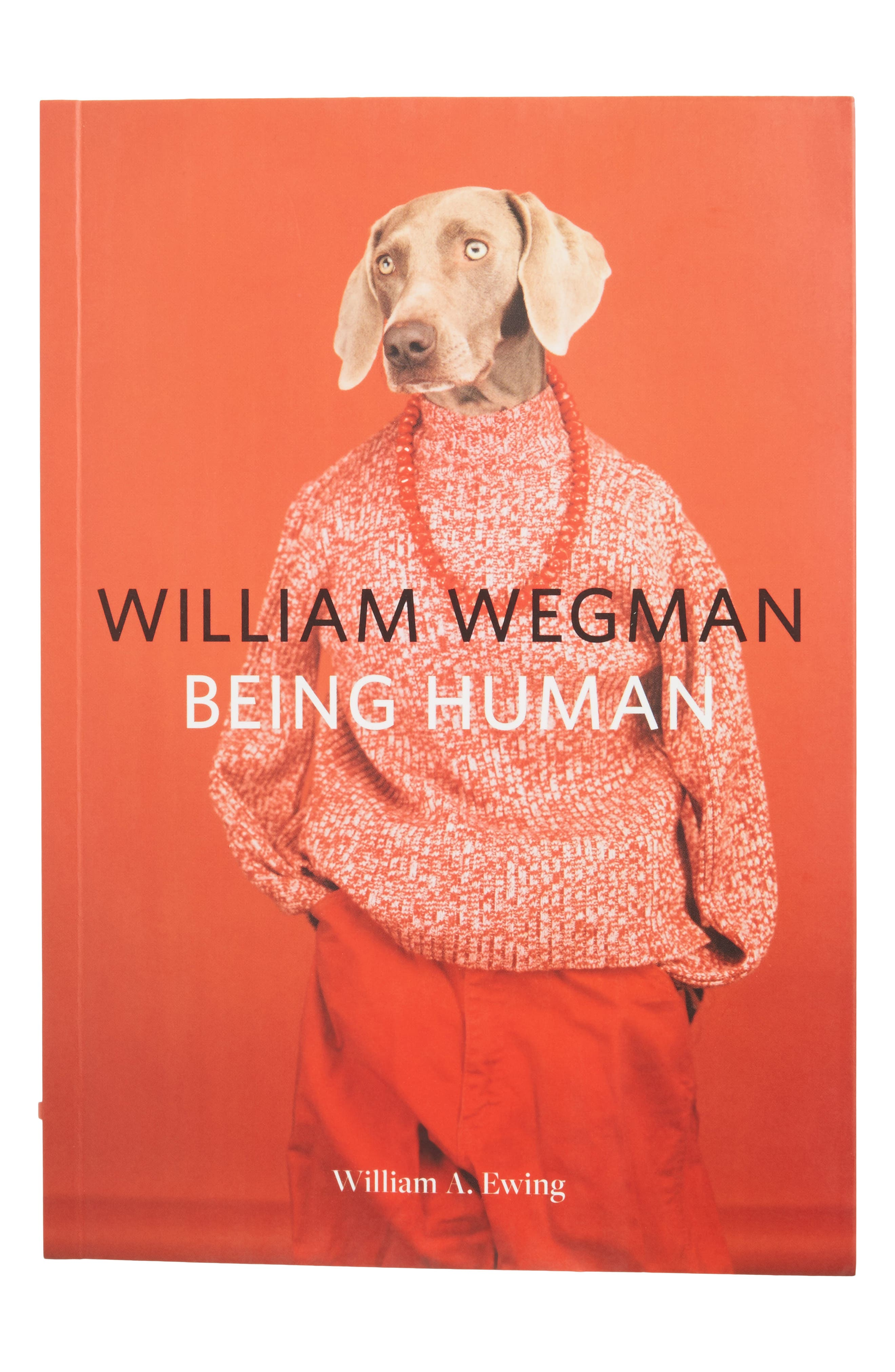 William Wegman: Being Human Book,                         Main,                         color, Red