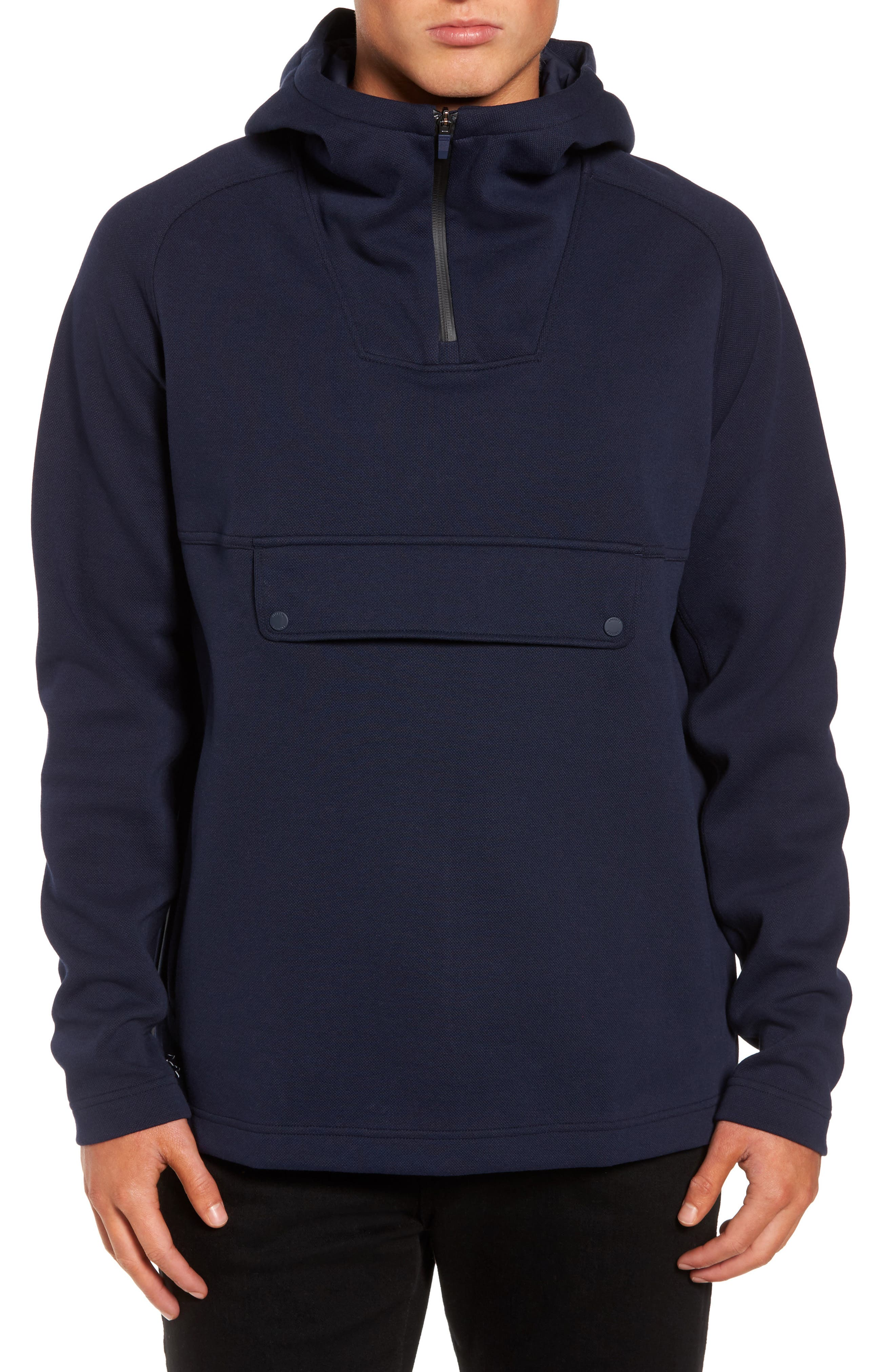 Lacoste Double Face Pullover Hoodie