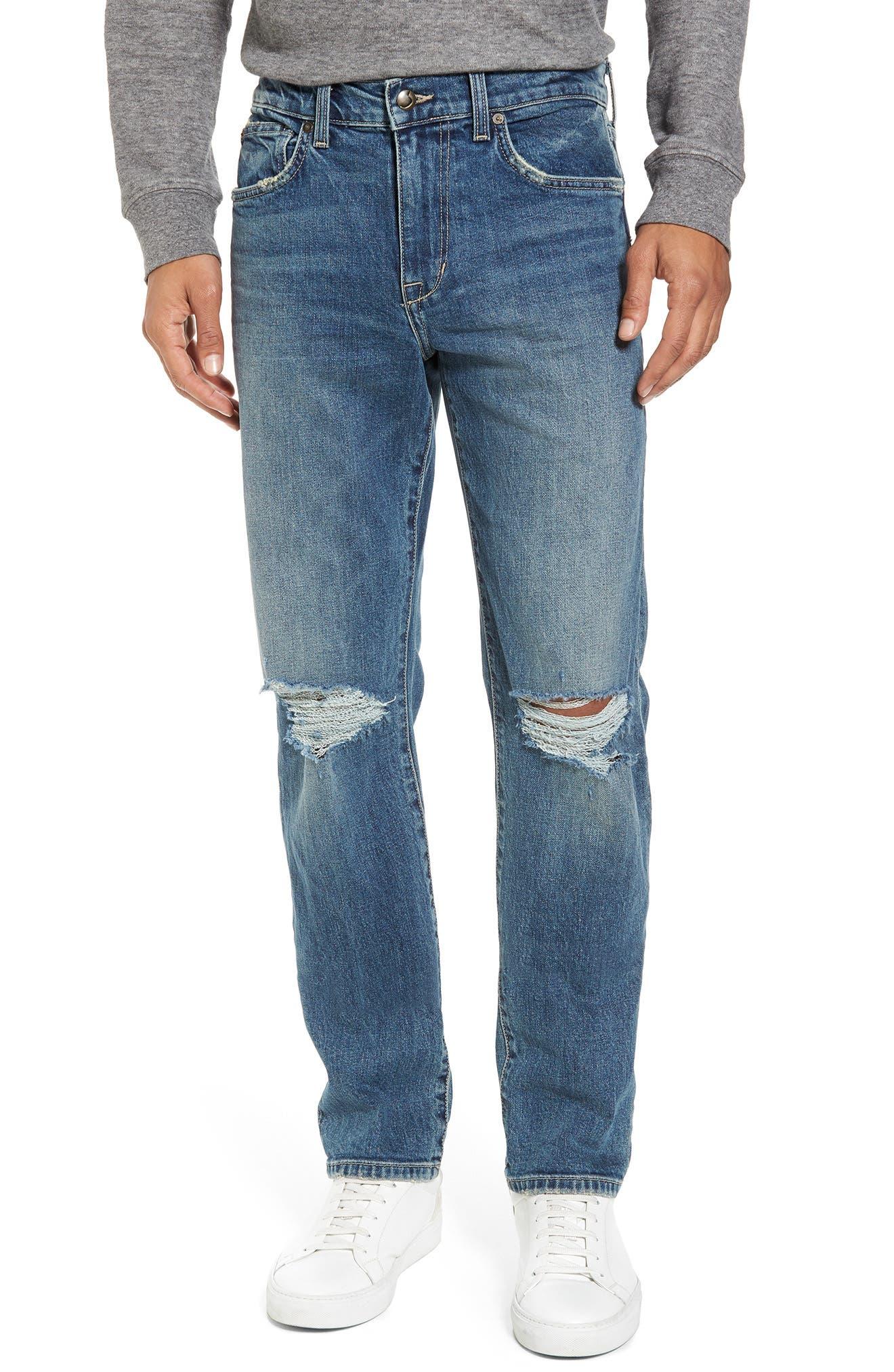 Slim Fit Jeans,                         Main,                         color, Olson