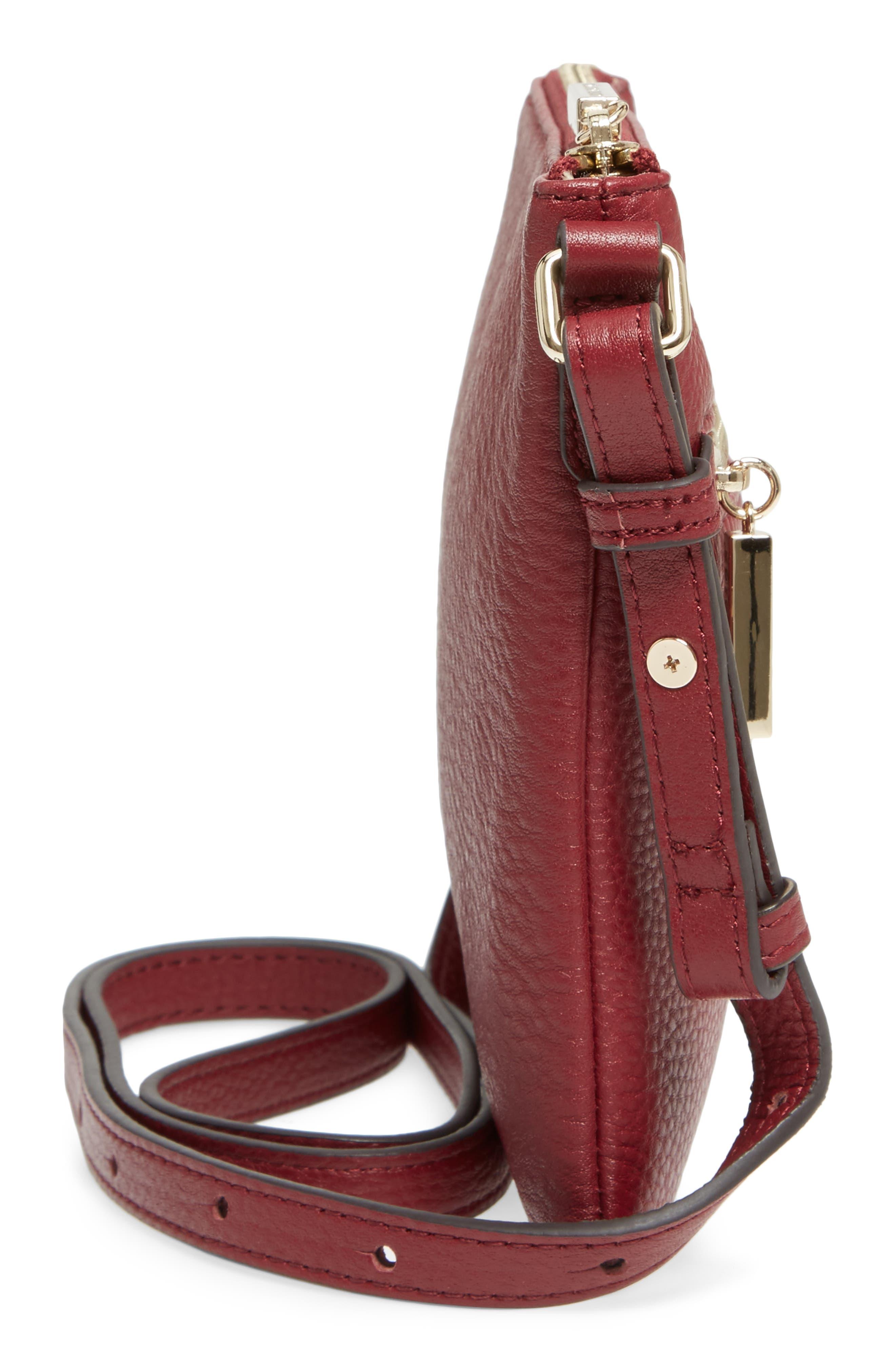 Alternate Image 5  - Céline Dion Adagio Leather Crossbody Bag