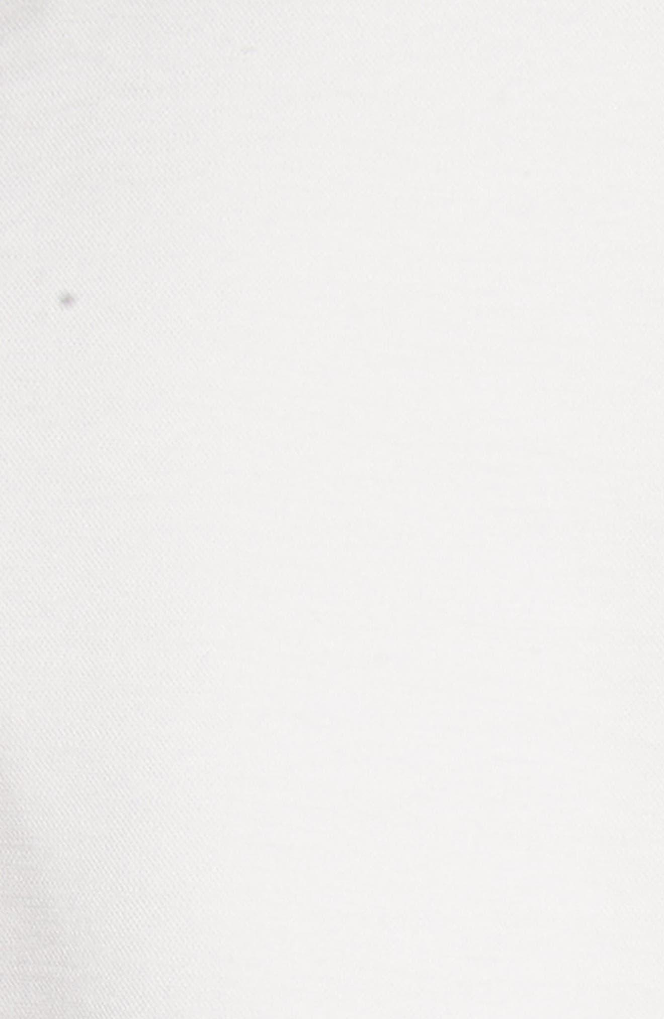 Sleeveless Corset Crop Top,                             Alternate thumbnail 5, color,                             White