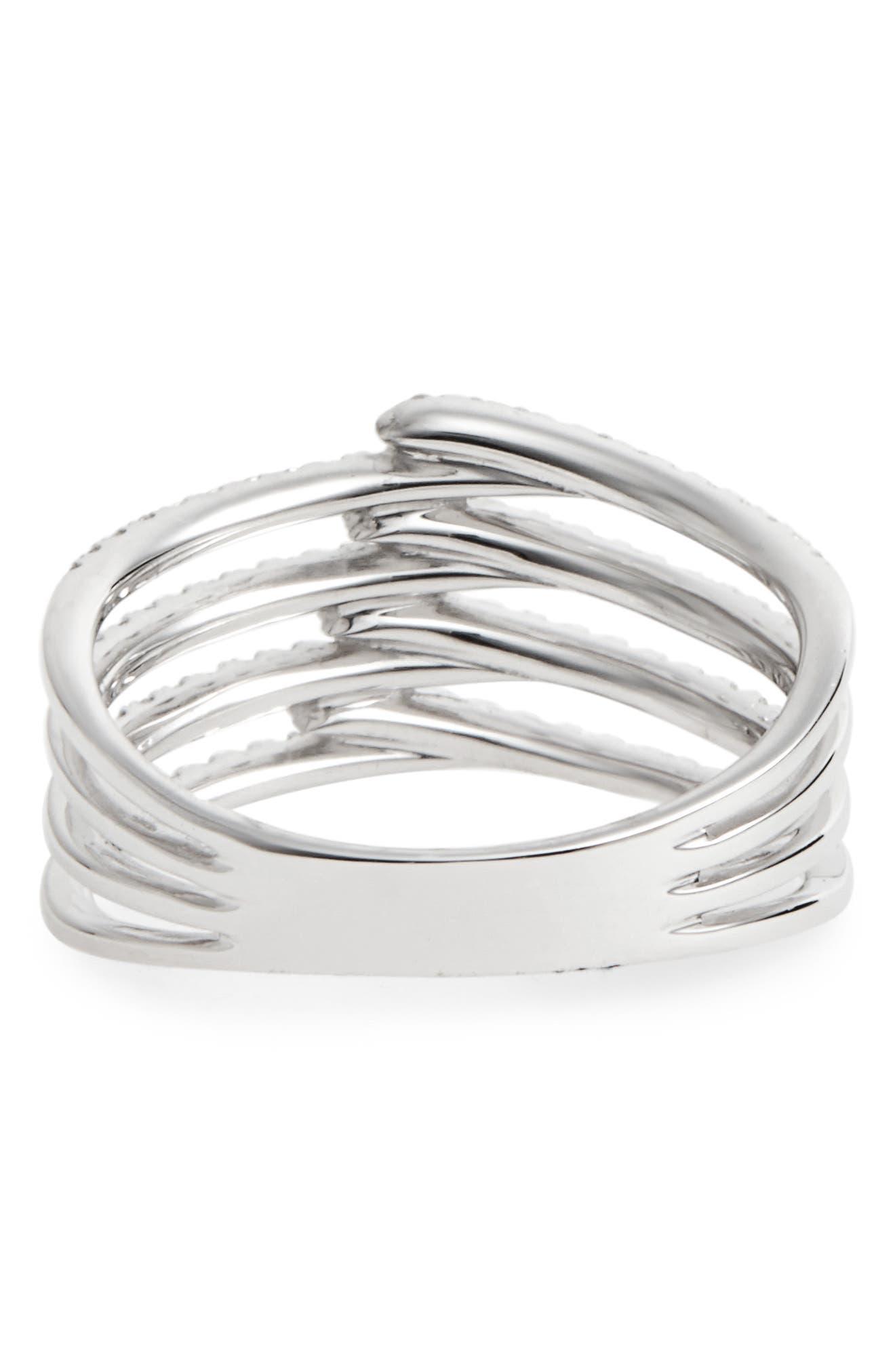 Alternate Image 4  - Bony Levy Kiera Four-Row Diamond Ring (Nordstrom Exclusive)
