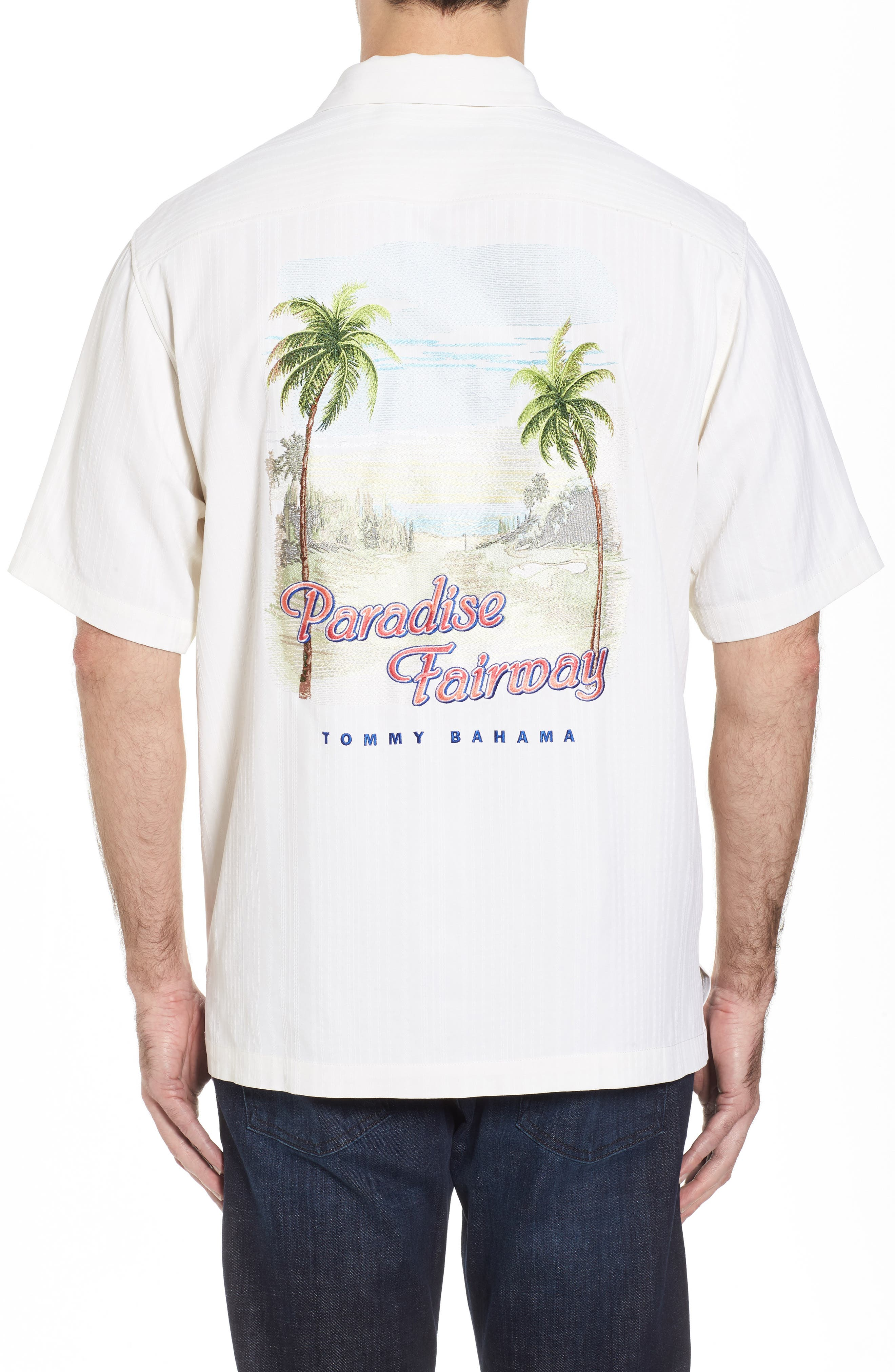 Tommy Bahama Paradise Fairway Silk Camp Shirt