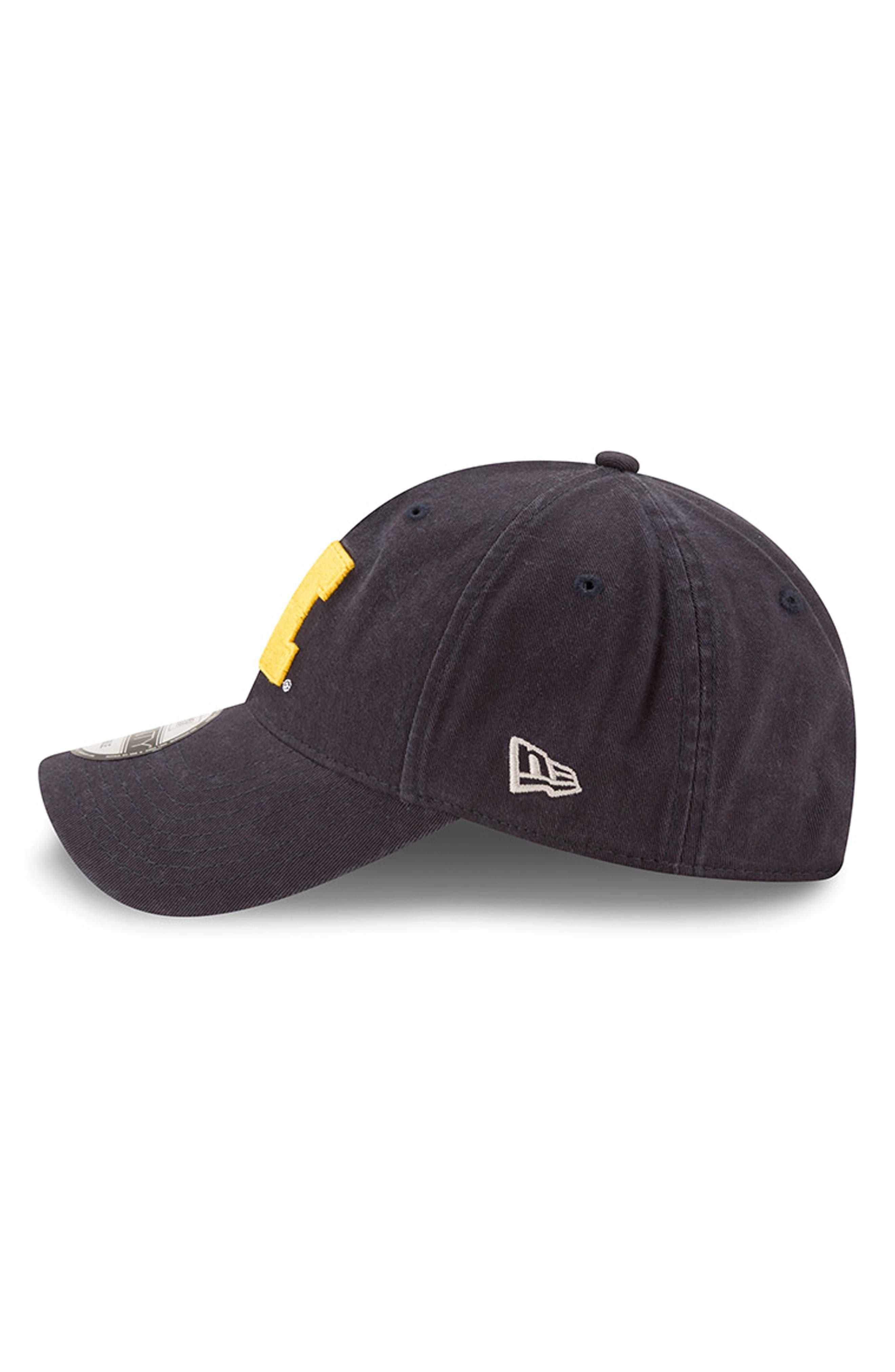 New Era Collegiate Core Classic - Michigan Wolverines Baseball Cap,                             Alternate thumbnail 3, color,                             Michigan Wolverines