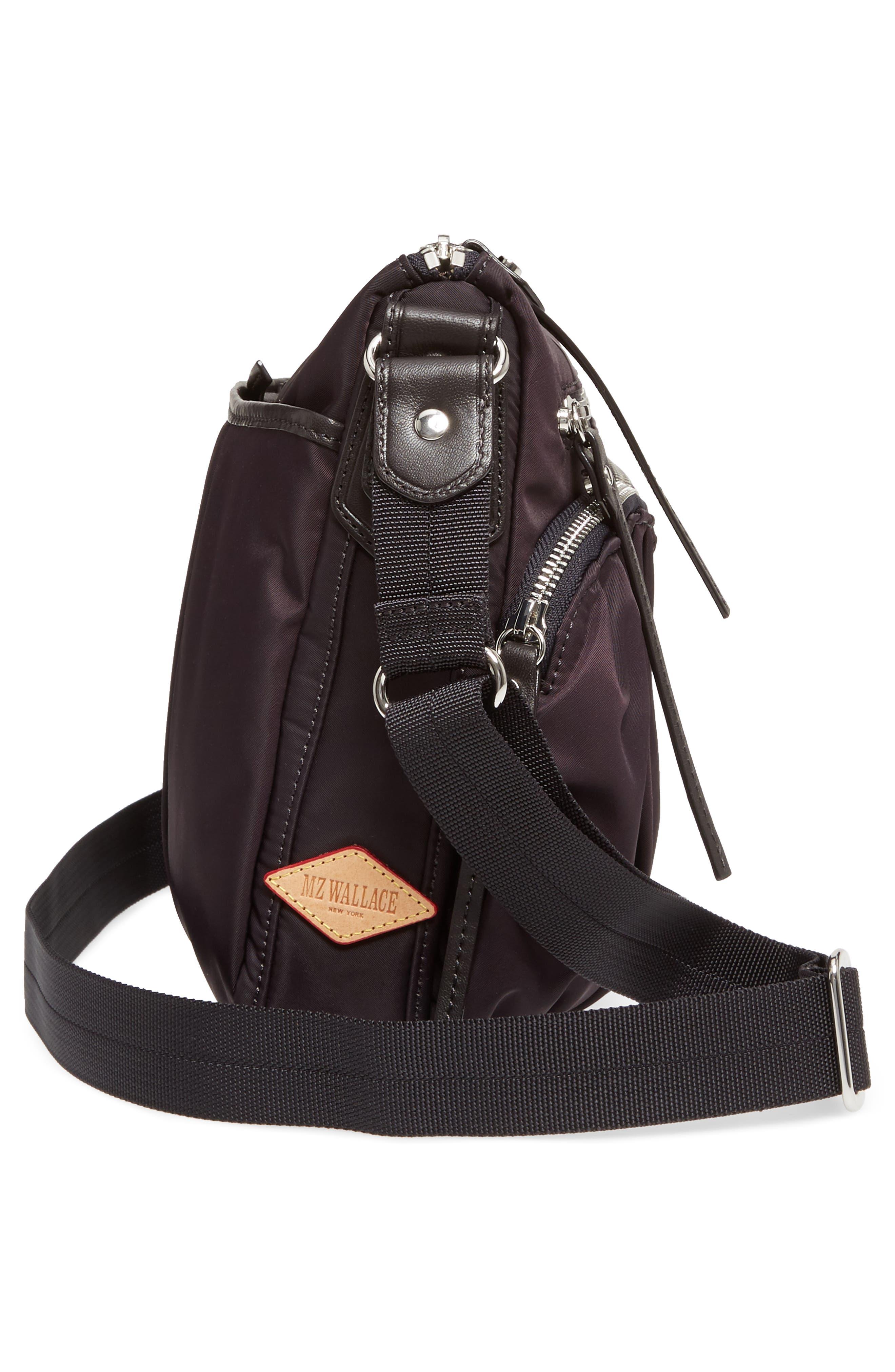Alternate Image 5  - MZ Wallace 'Paige' Bedford Nylon Crossbody Bag