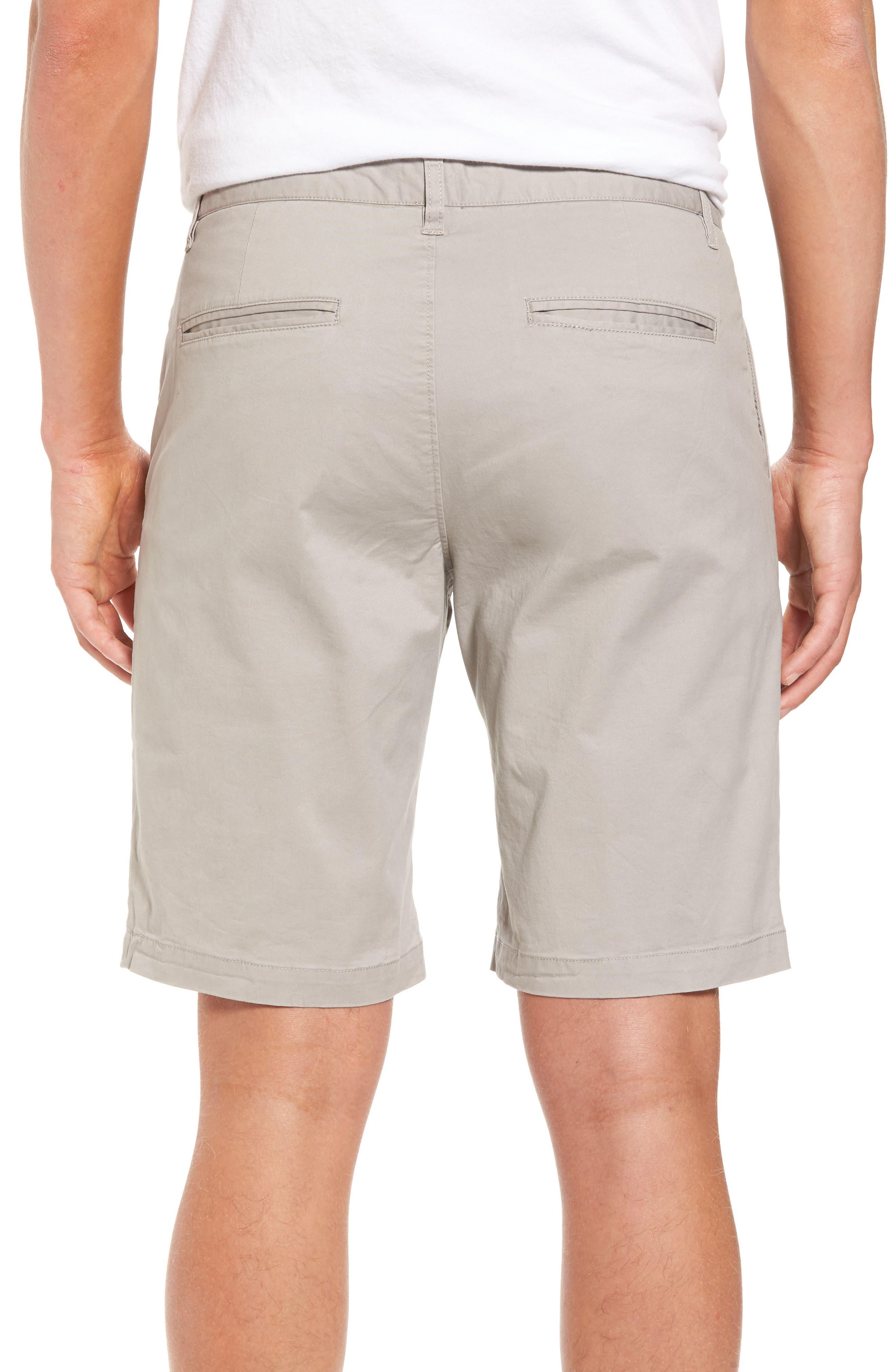 Alternate Image 2  - 7 Diamonds Slim Fit Brushed Twill Shorts