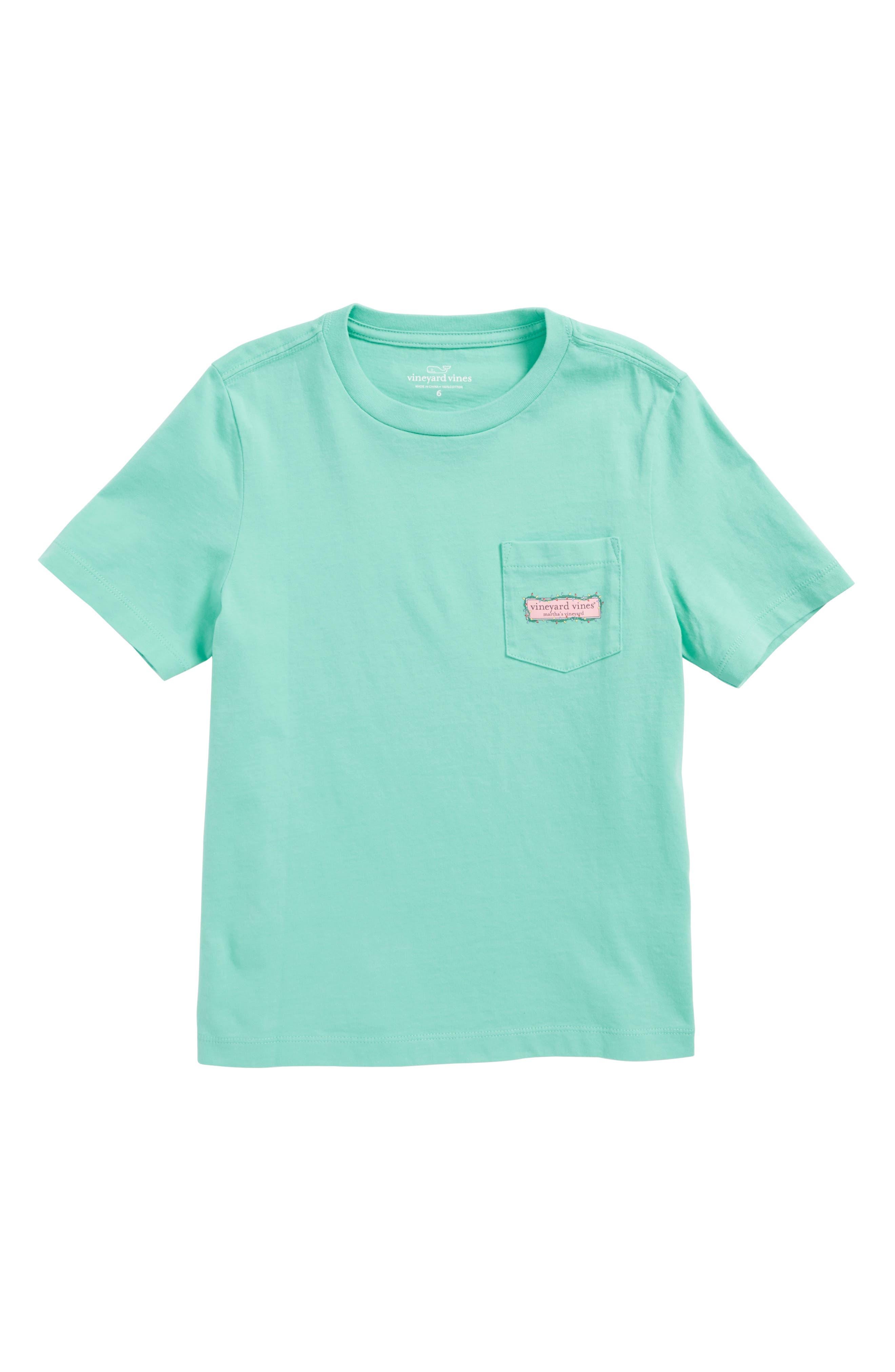 vineyard vines Box Lights Logo T-Shirt (Toddler Boys & Little Boys)