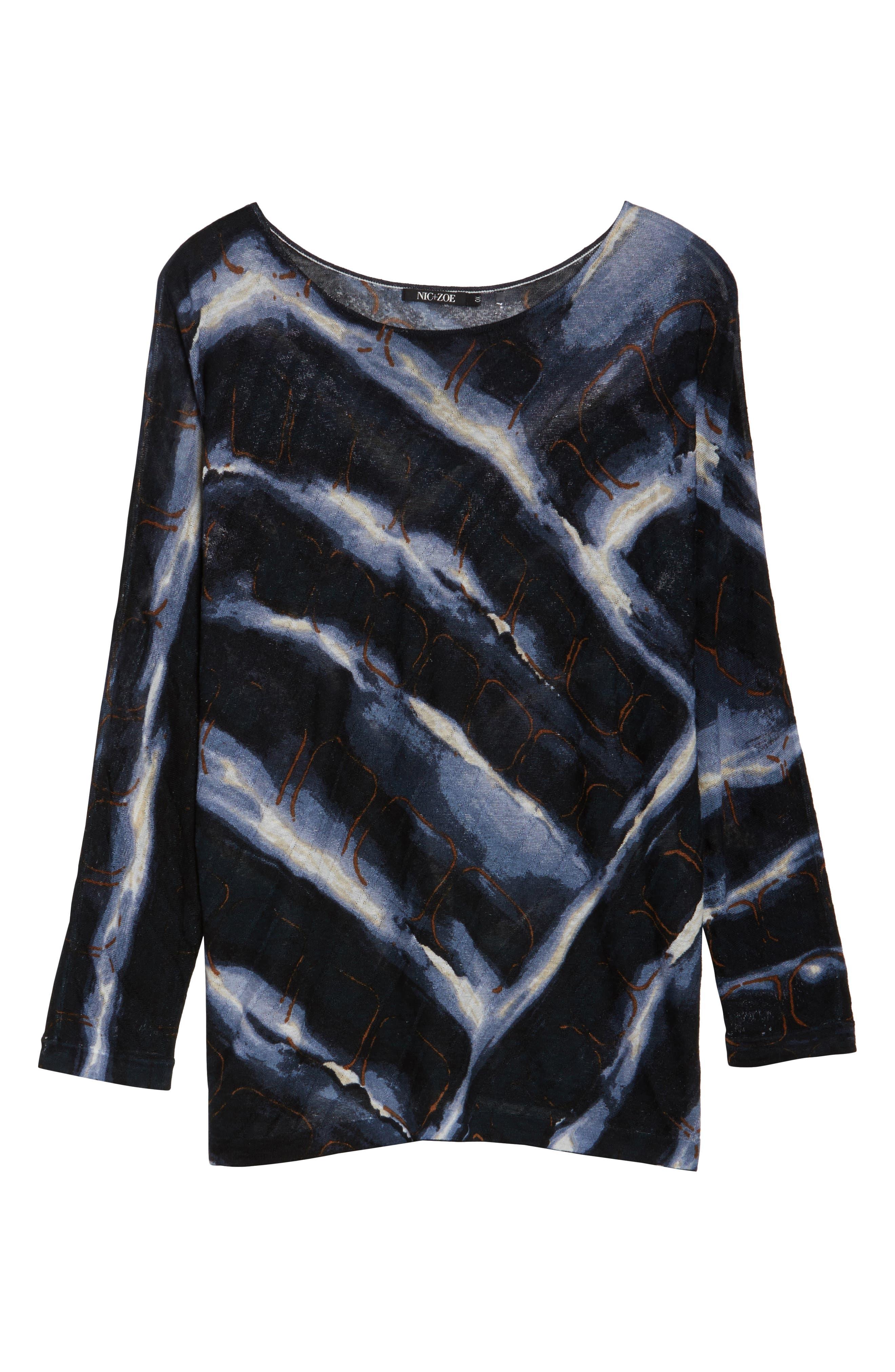 Wave Sweater,                             Alternate thumbnail 6, color,                             Multi