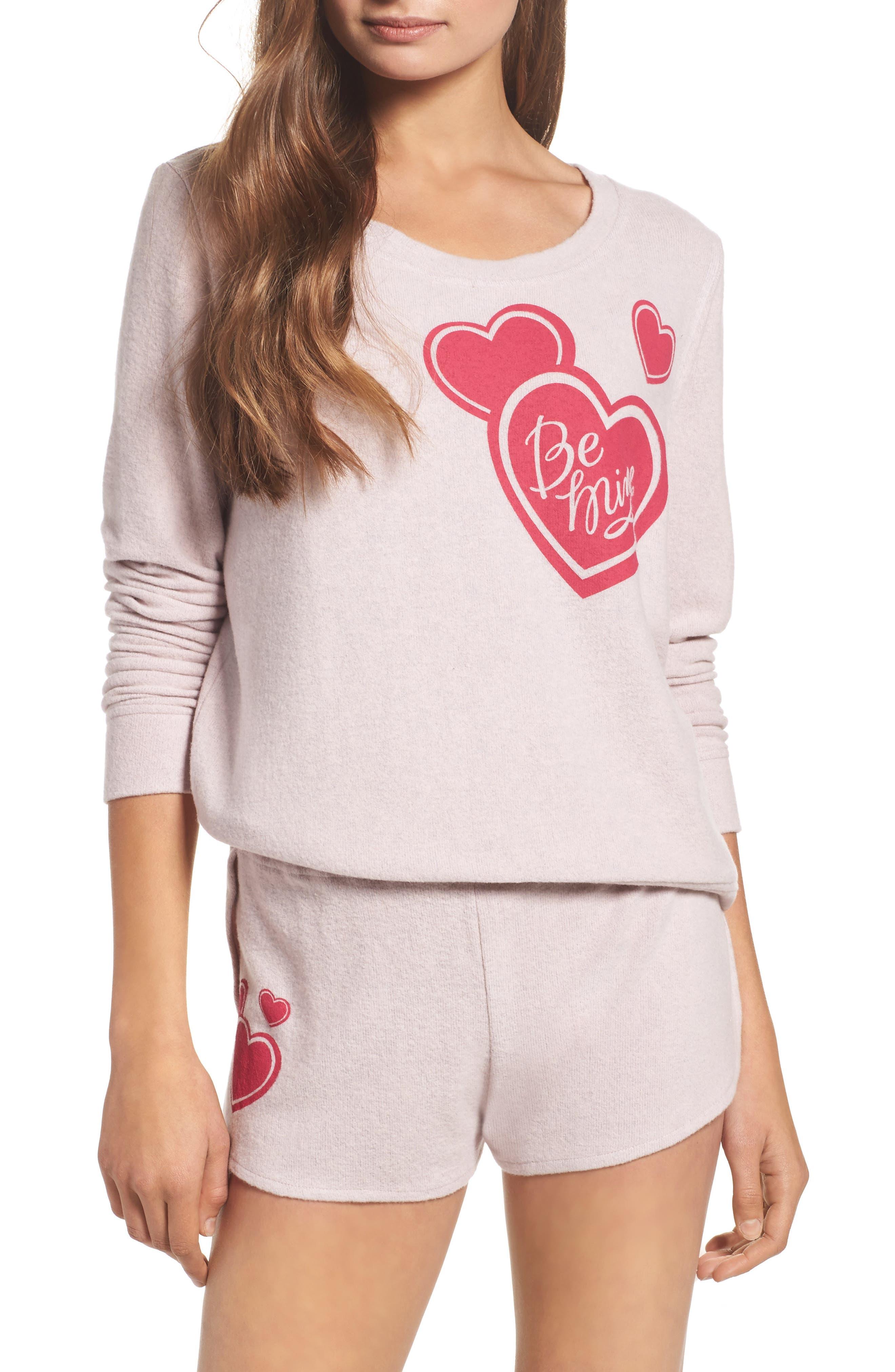 Make + Model Be Mine Short Pajamas