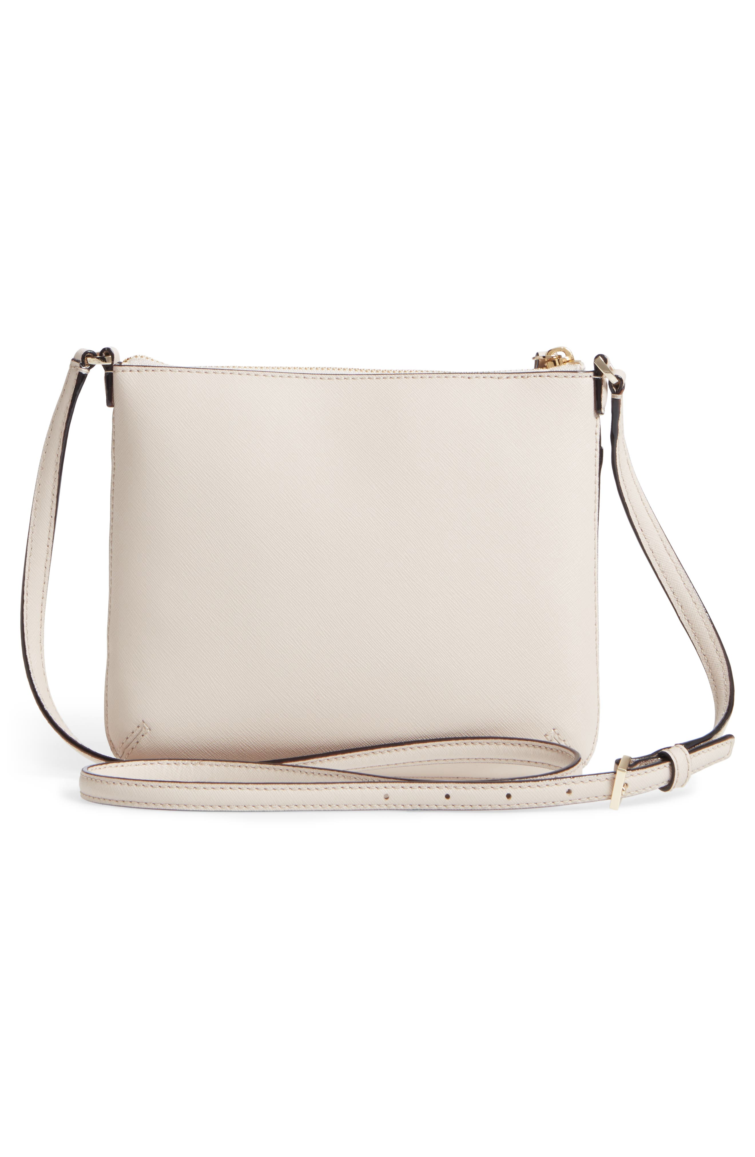 cameron street - tenley leather crossbody bag,                             Alternate thumbnail 3, color,                             Tusk