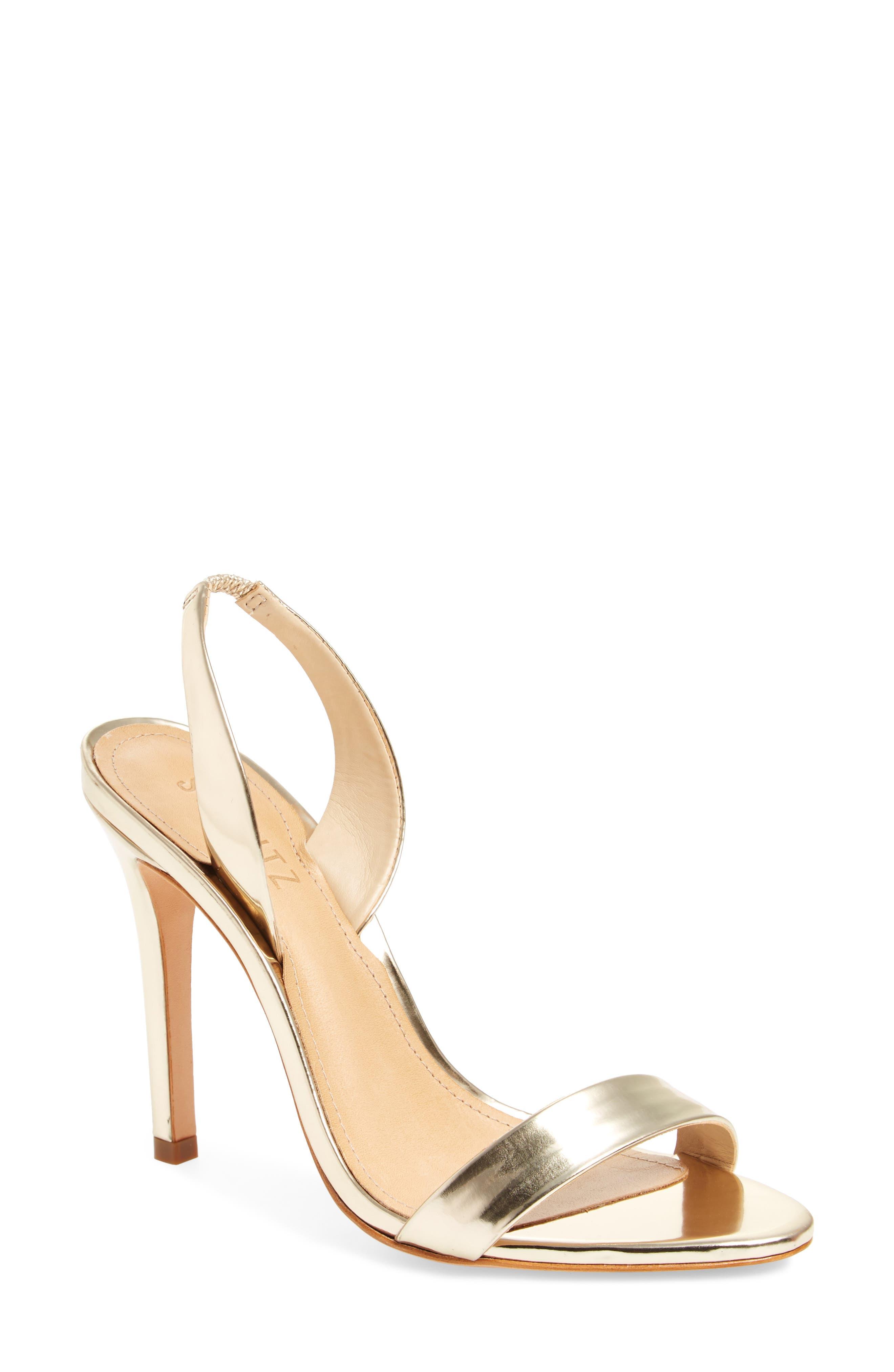Luriane Sandal,                         Main,                         color, Platina Specchio