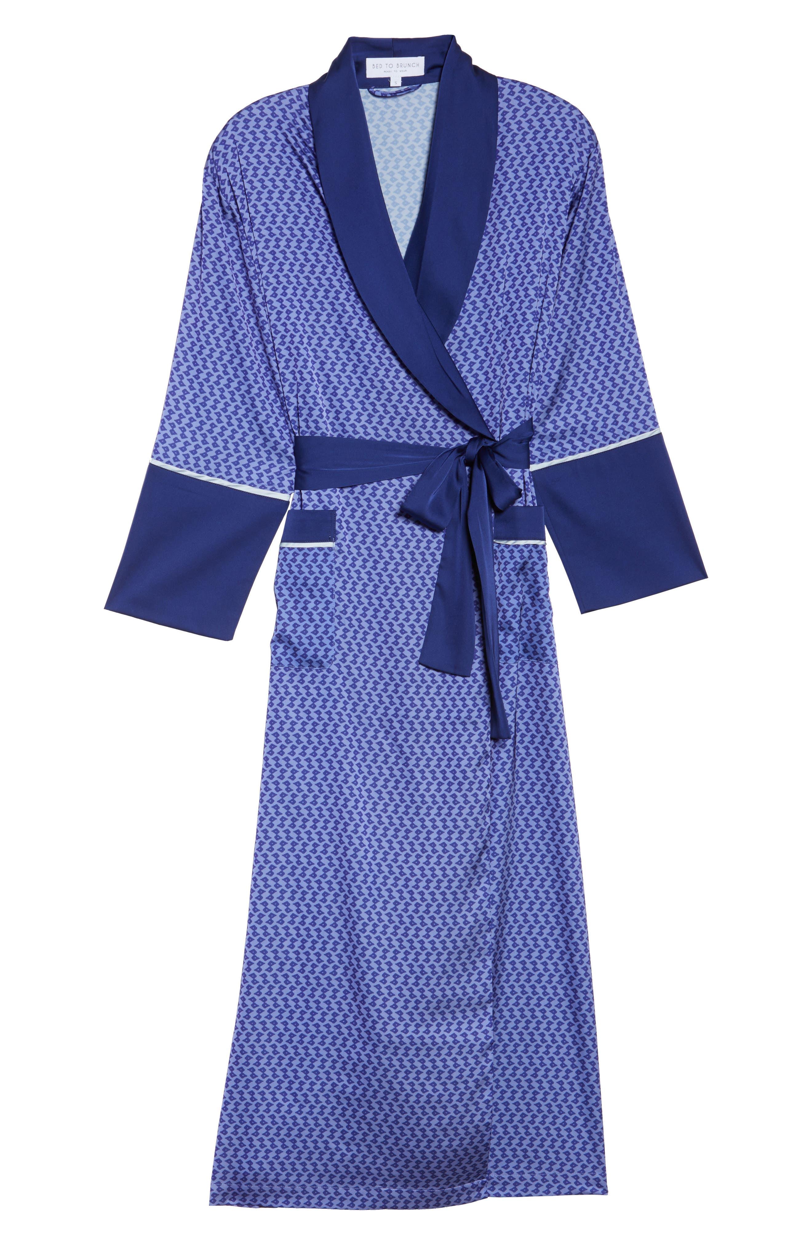Alternate Image 4  - Bed to Brunch Satin Robe