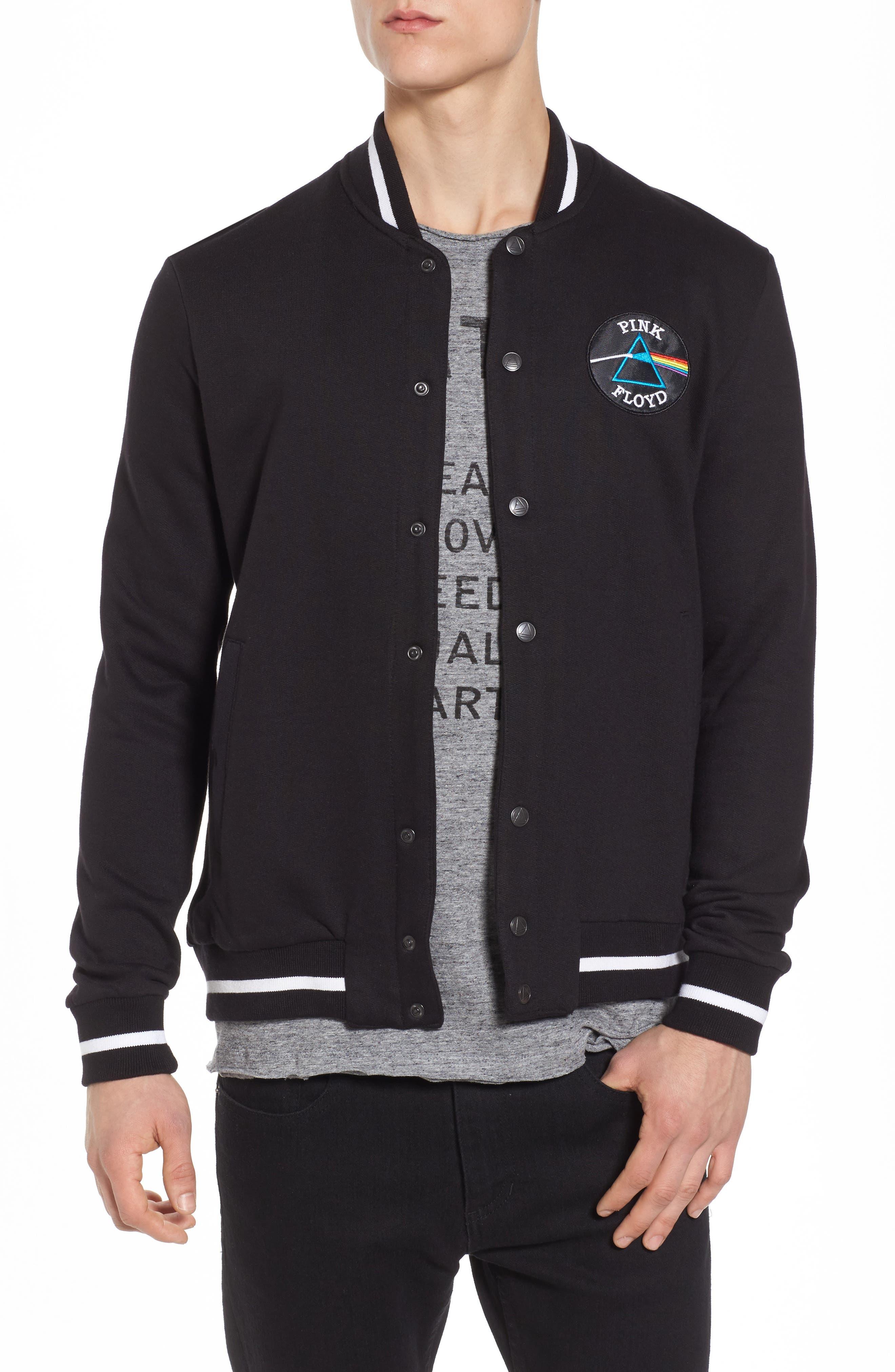Neptune Track Jacket,                         Main,                         color, Black