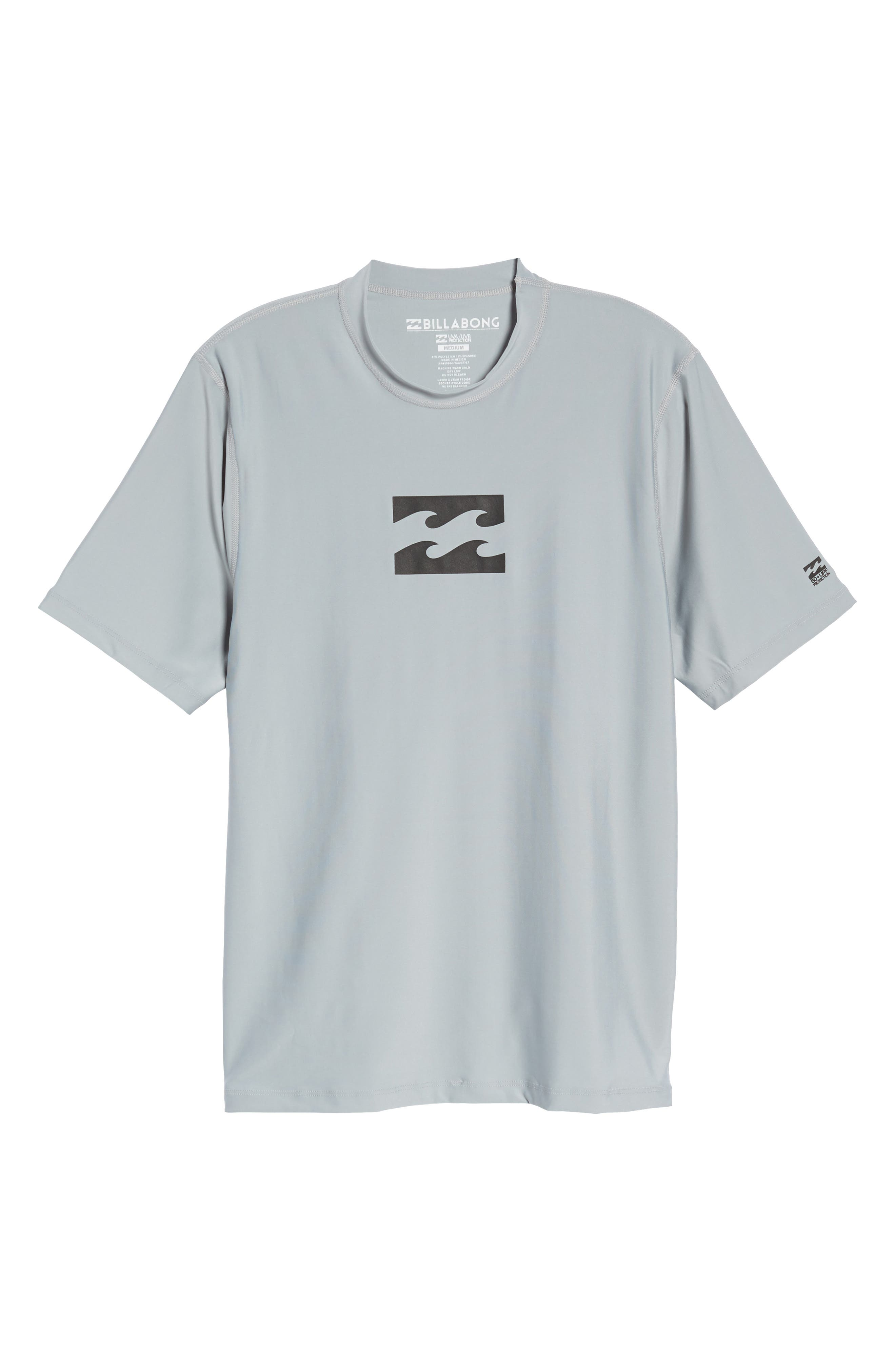 All Day Wave Wet Shirt,                             Alternate thumbnail 6, color,                             Silver