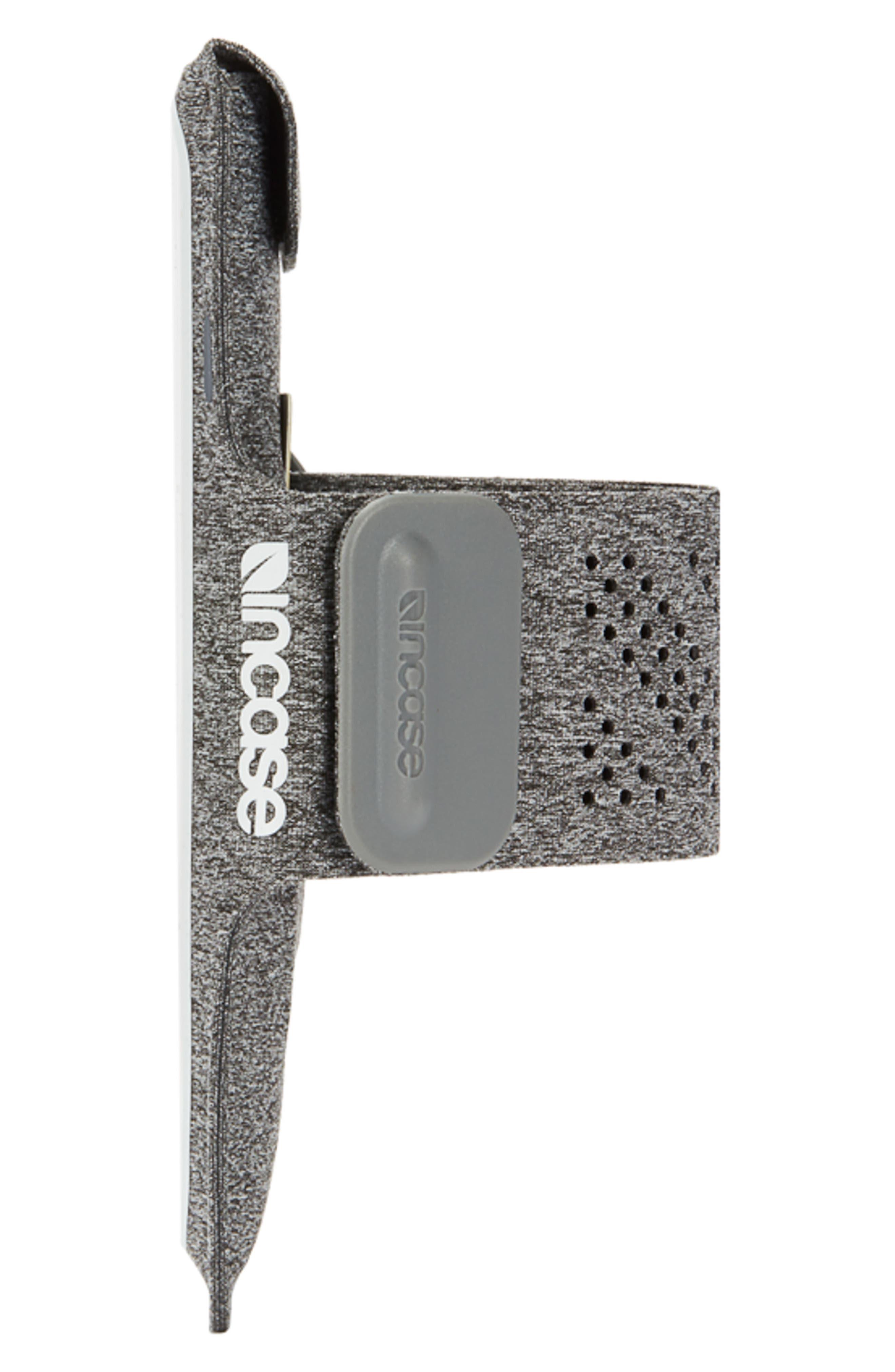 iPhone 7/8 Plus Active Armband,                             Alternate thumbnail 3, color,                             Heather Grey