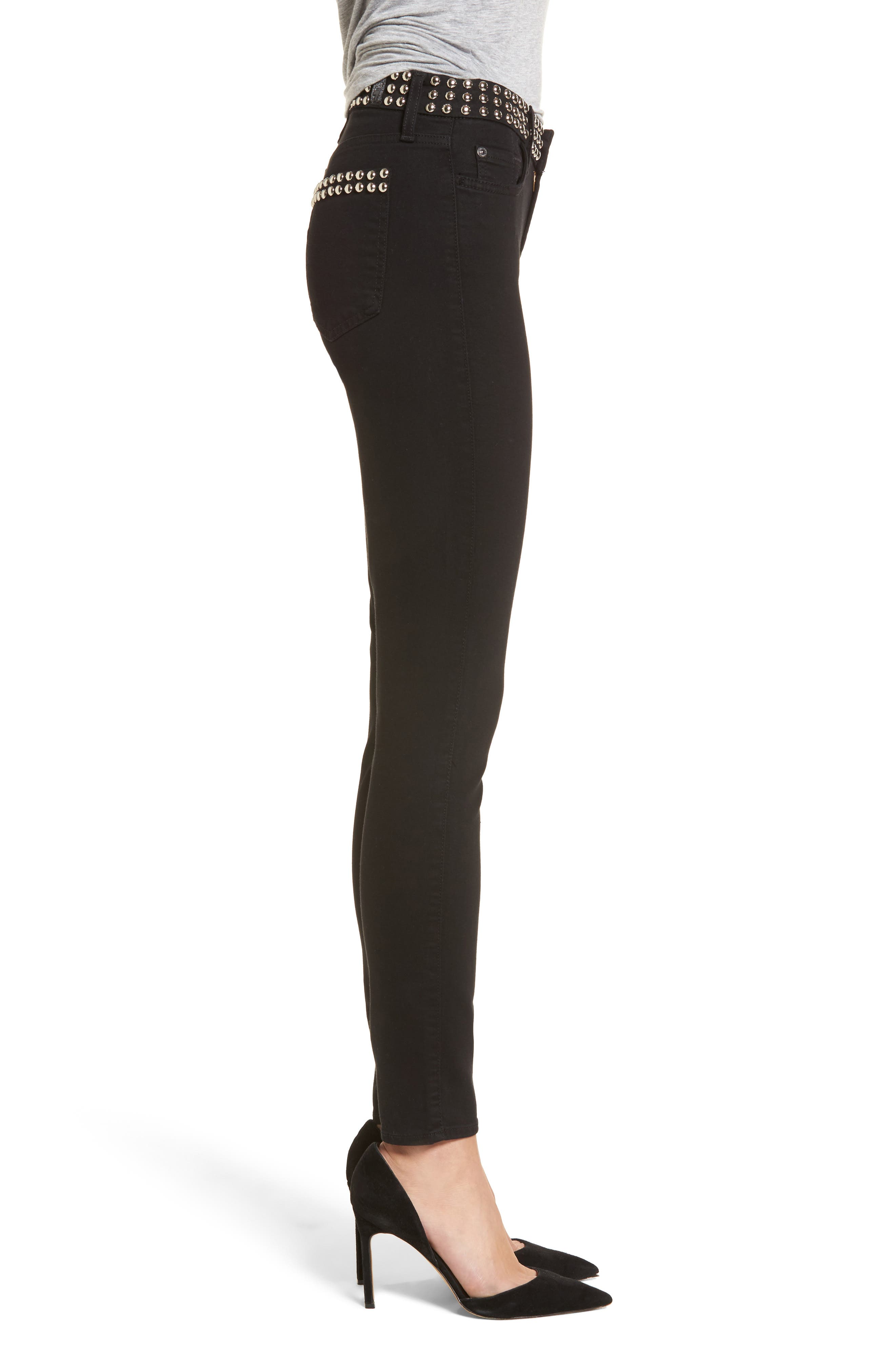 Alternate Image 3  - 7 For All Mankind® The Ankle Skinny Jeans