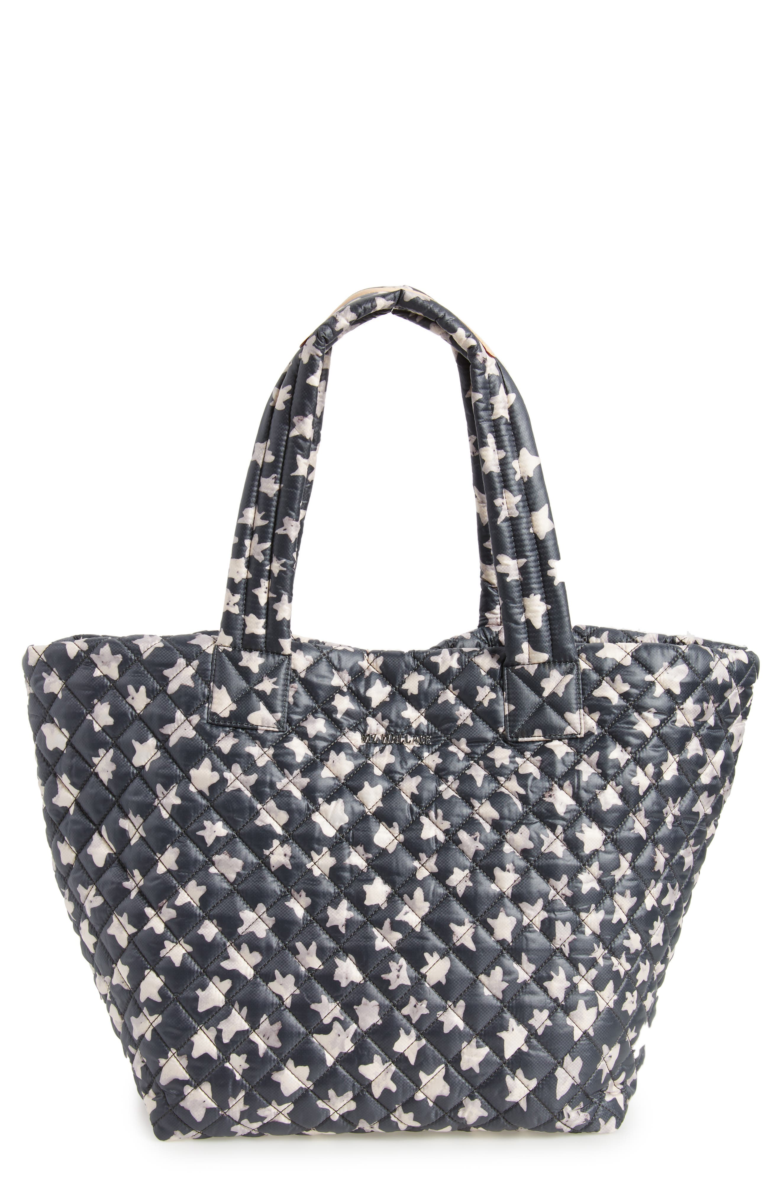 MZ Wallace 'Medium Metro' Quilted Oxford Nylon Tote