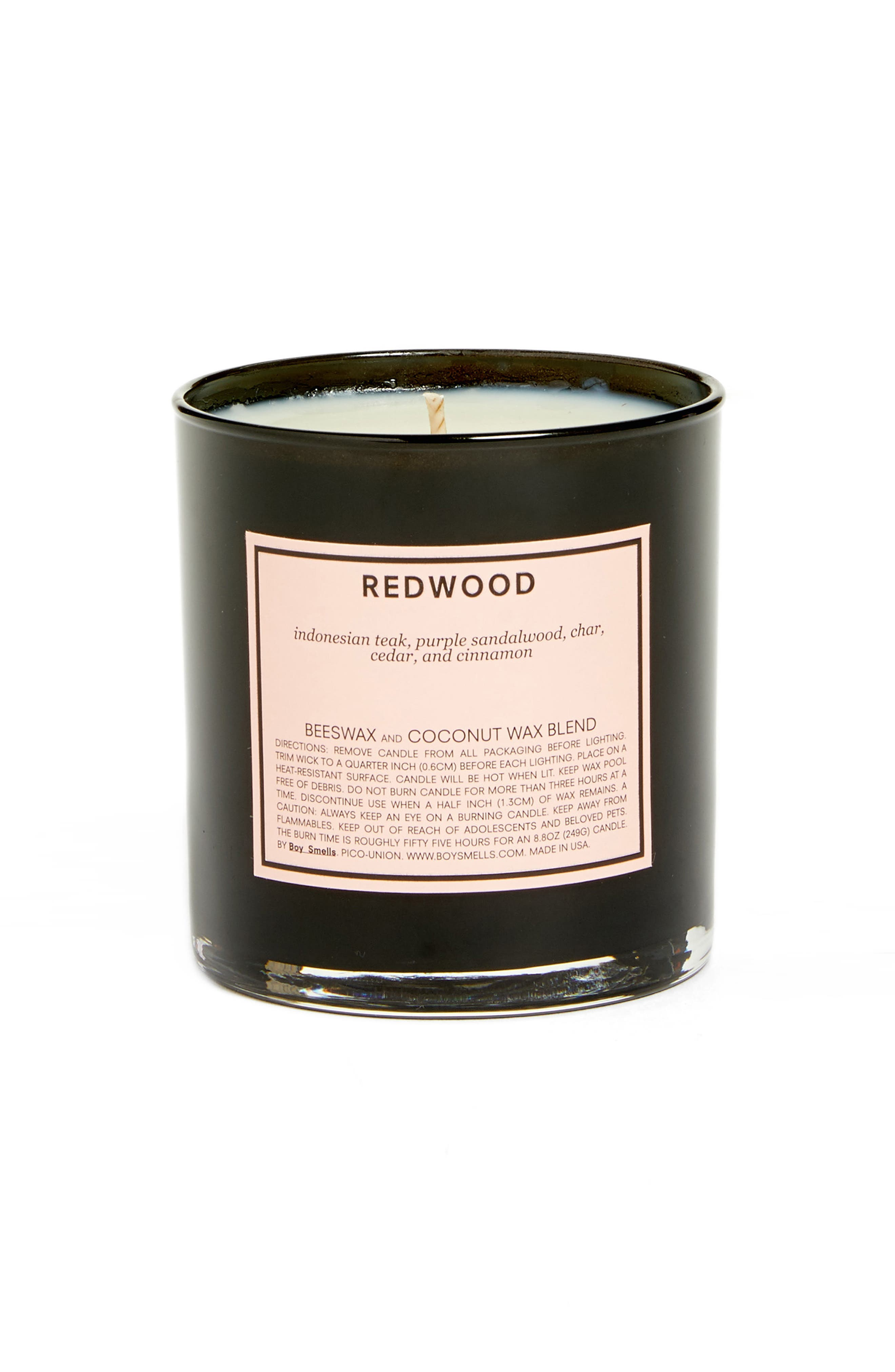 Redwood Scented Candle,                             Main thumbnail 1, color,                             None