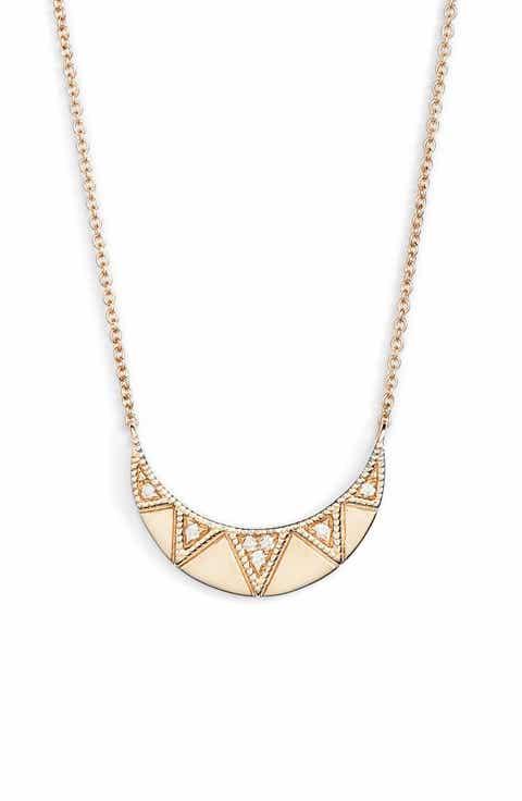 Womens diamond necklaces nordstrom dana rebecca designs jeanie ann diamond pendant necklace aloadofball Images