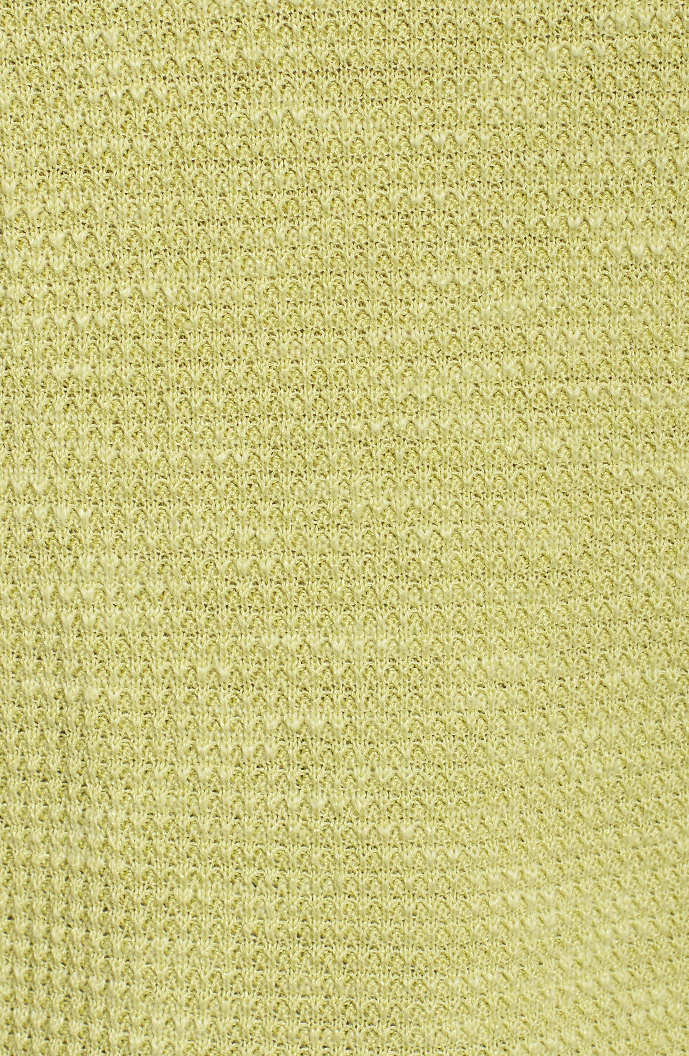 Alternate Image 5  - Eileen Fisher Drawstring Neck Organic Linen & Cotton Top (Plus Size)