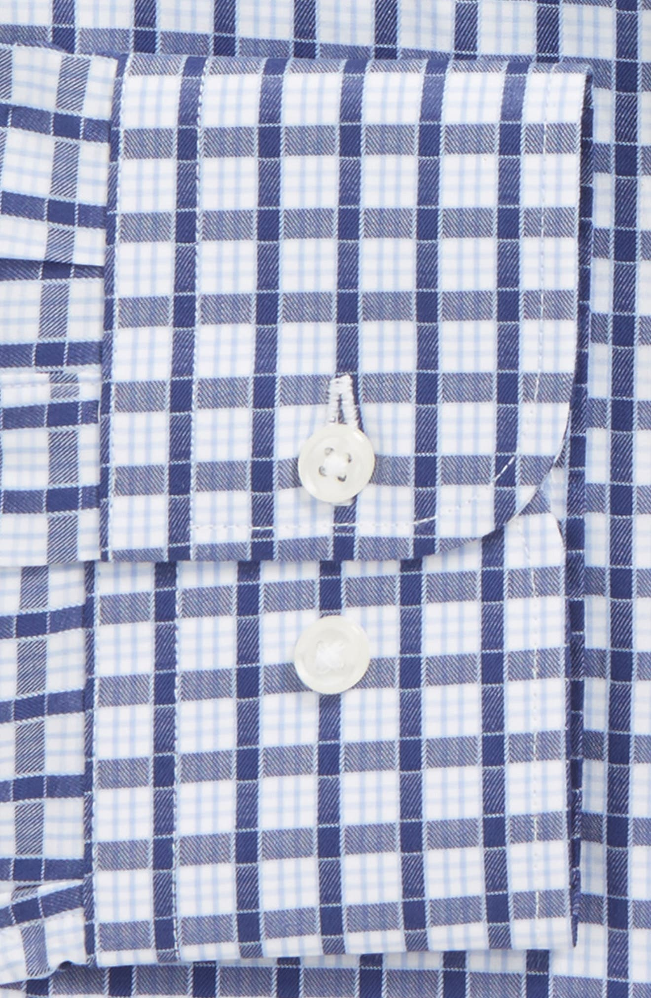 Alternate Image 5  - Nordstrom Men's Shop Trim Fit Check Dress Shirt